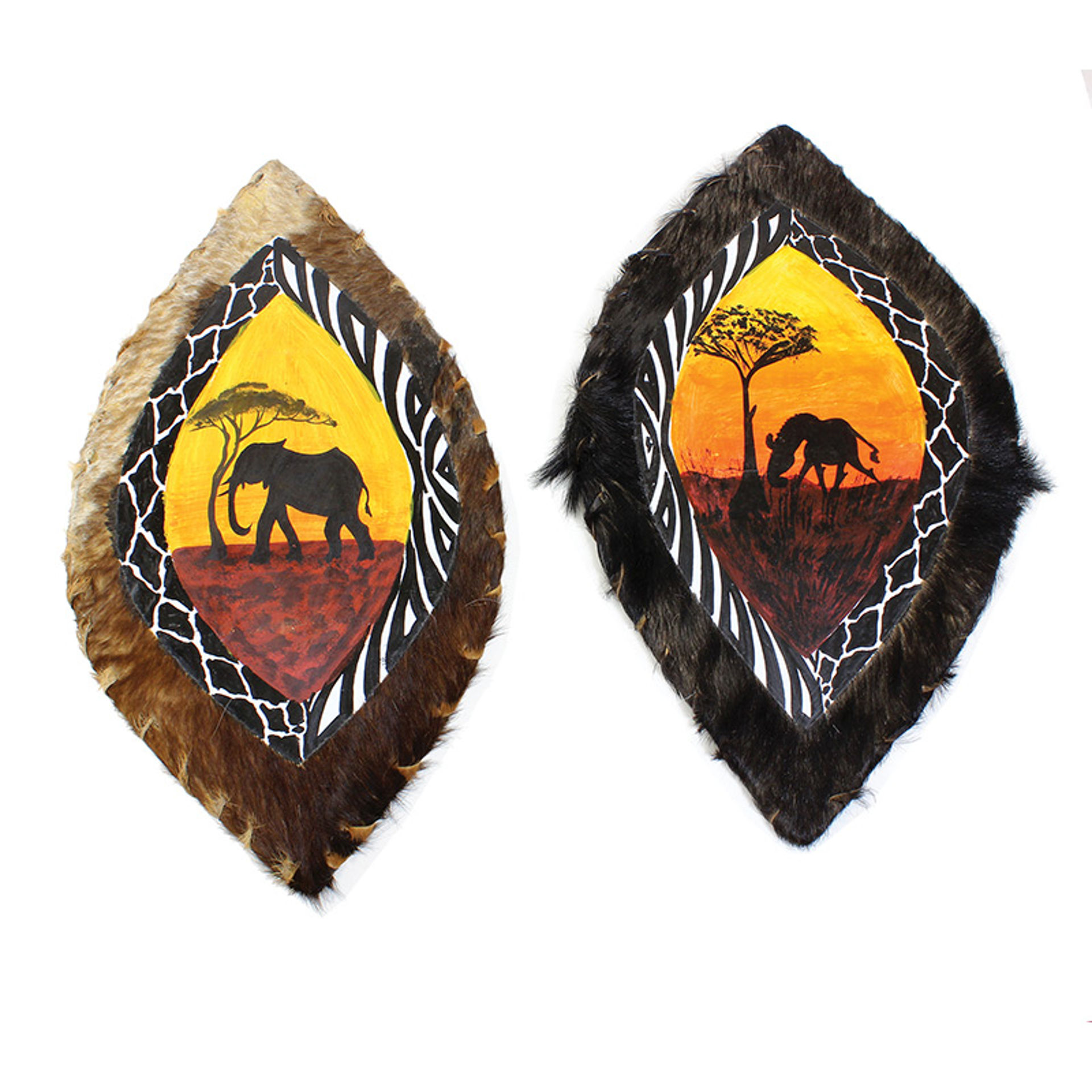 Picture of African Safari Shield: Assorted Animals