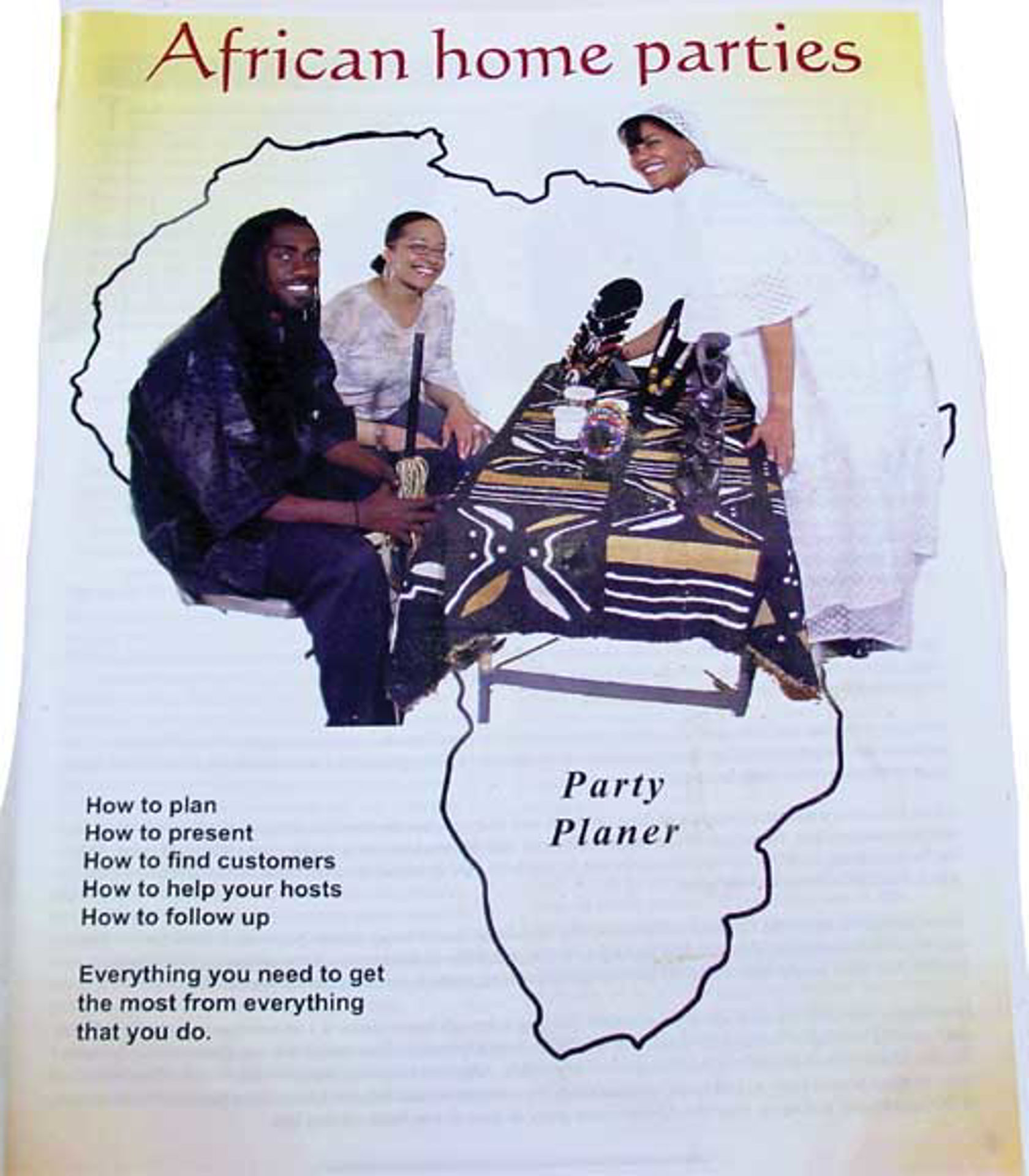 Picture of African Home Party Action Plan
