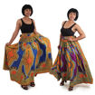 Picture of Traditional Print Paneled Skirt
