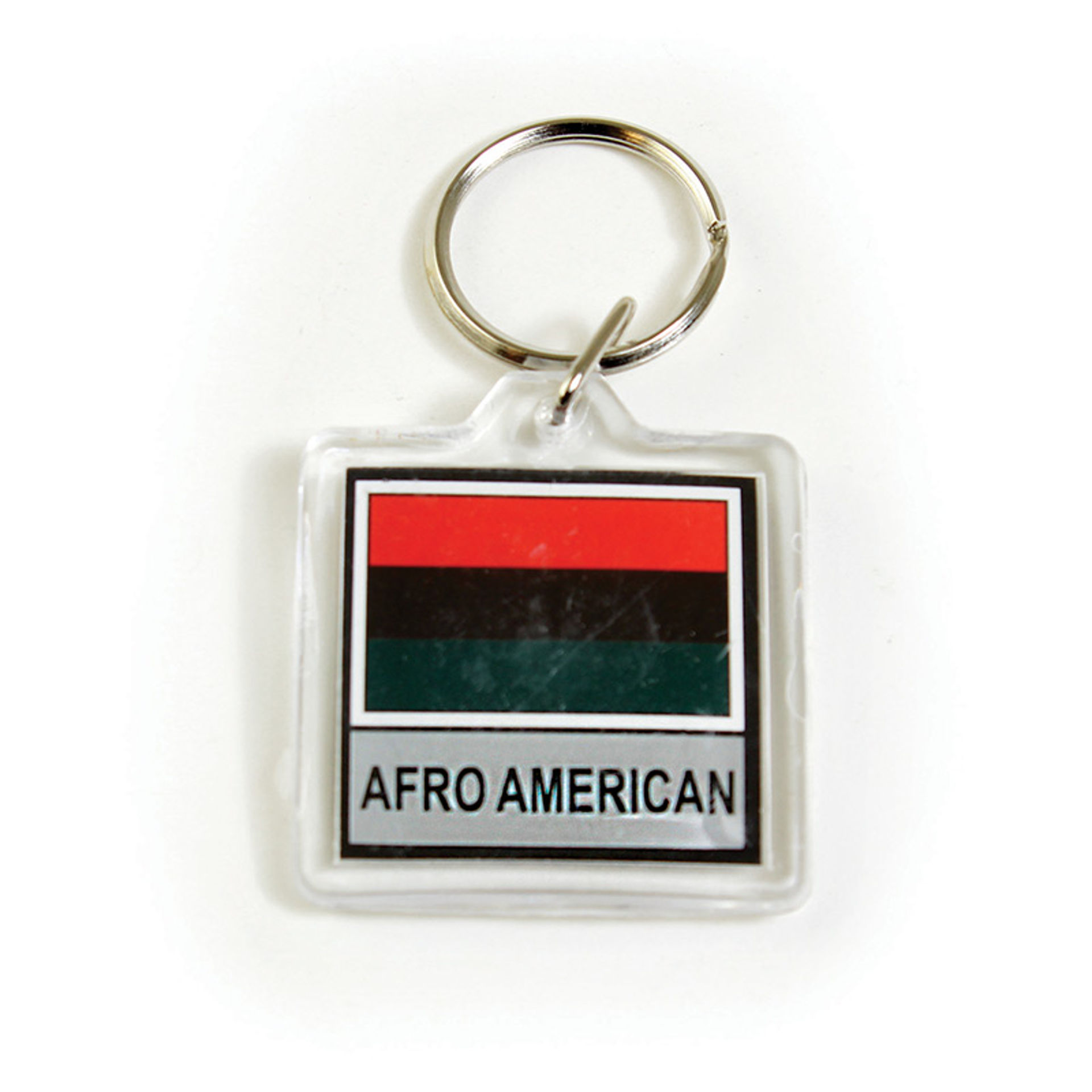 Picture of Afro American Flag Key Chain