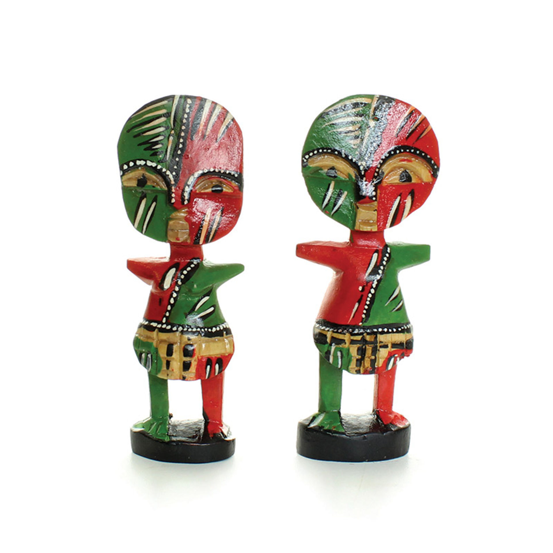 Picture of Set Of 2: Painted Fertility Idols - 4-5""