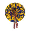 Picture of African Botanical Leather Folding Fan