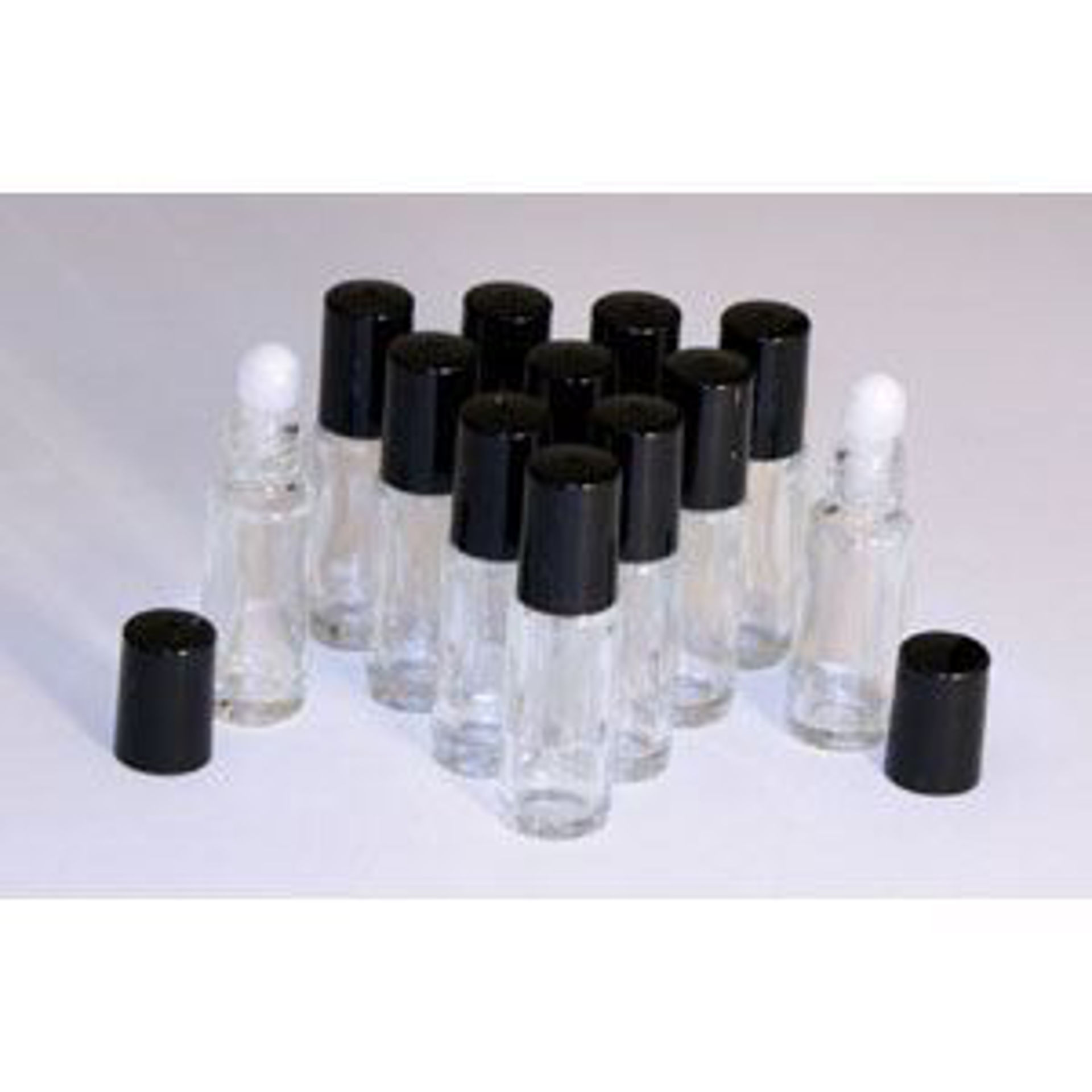 Picture of 1 Dram Glass ROLL-ON Bottles - Set Of 12
