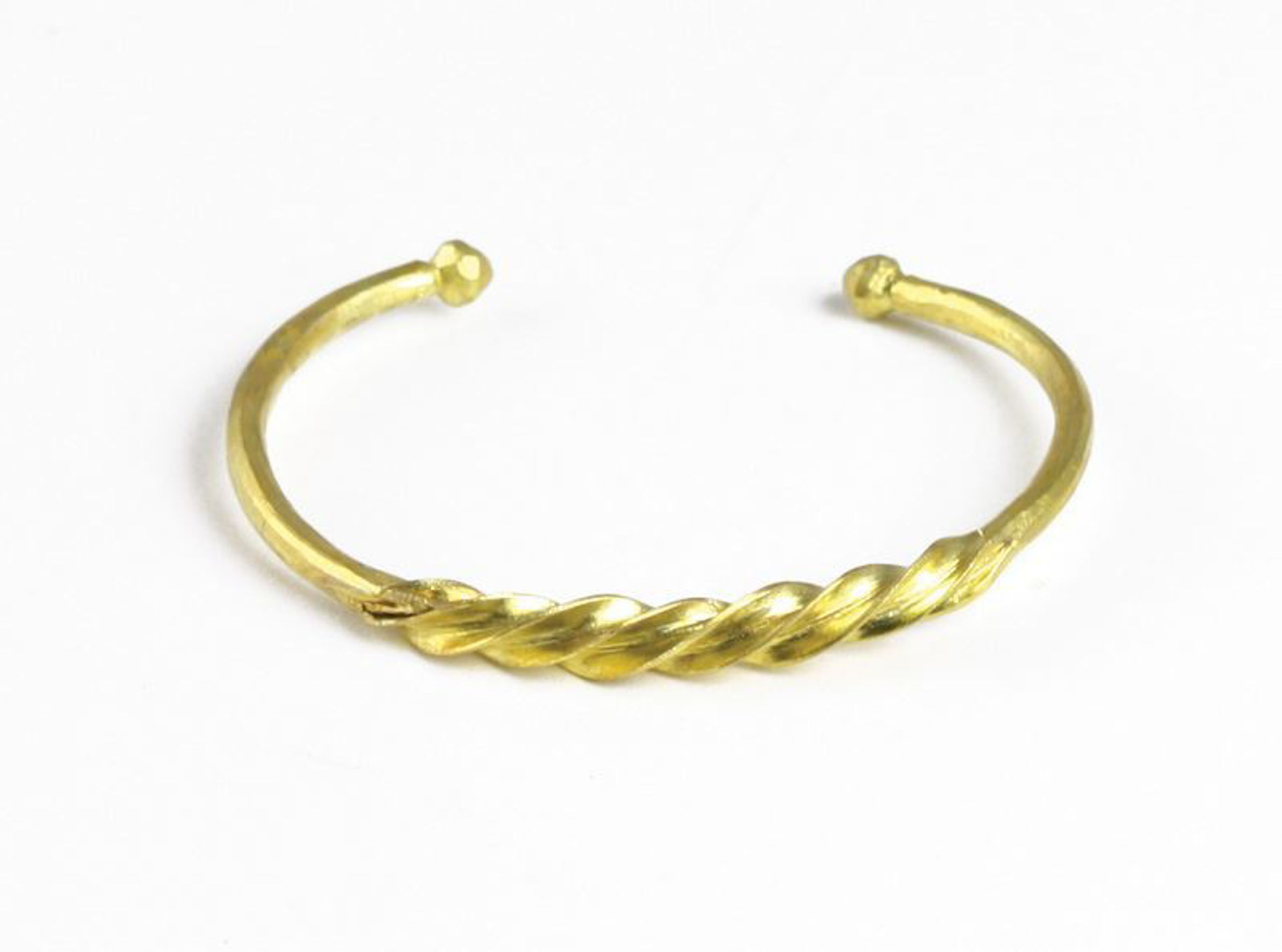 Picture of Fulani Gold Twist Bracelet