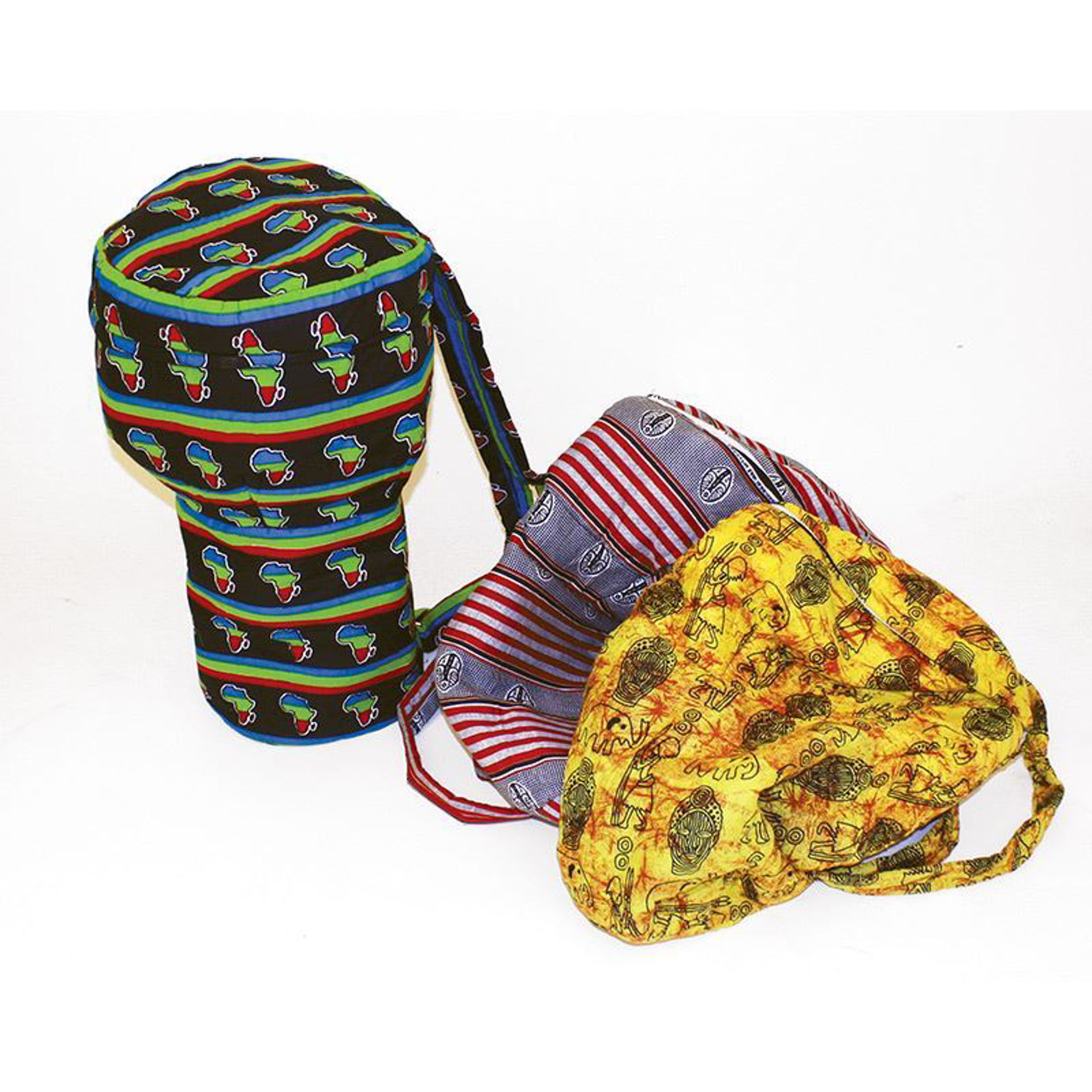 Picture of Djembe Drum Bags - African Print Fabric