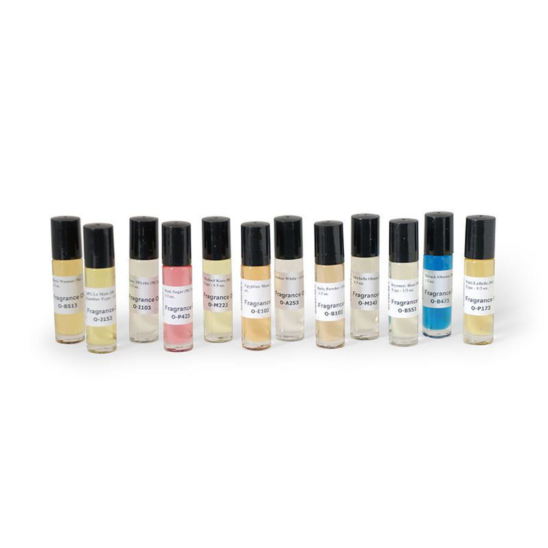 Picture of Set Of 12 Top Oils - 1/3 oz.