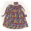 Picture of Red/Blue Kente Long Skirt