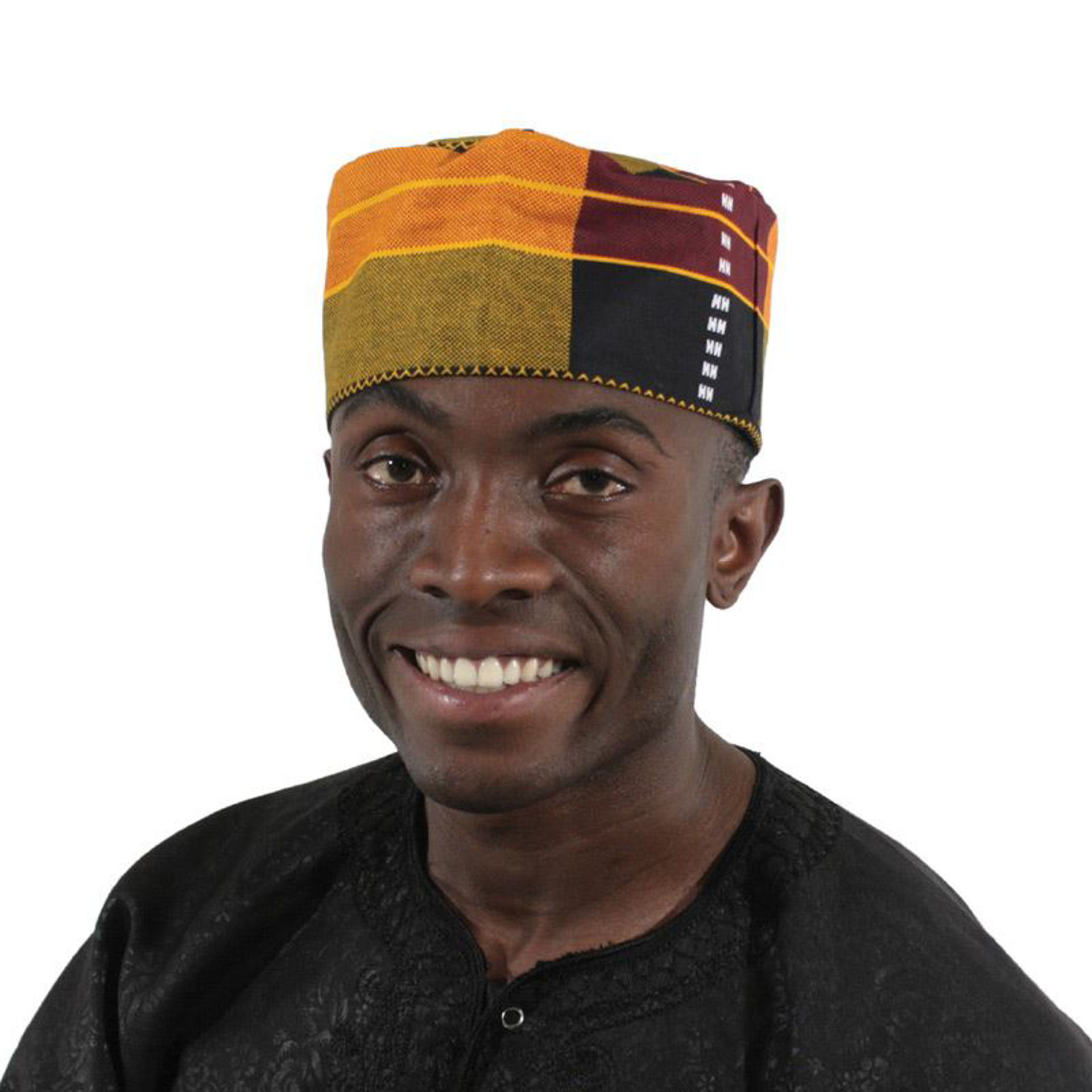 Picture of Kente Kufi Hat Style #3