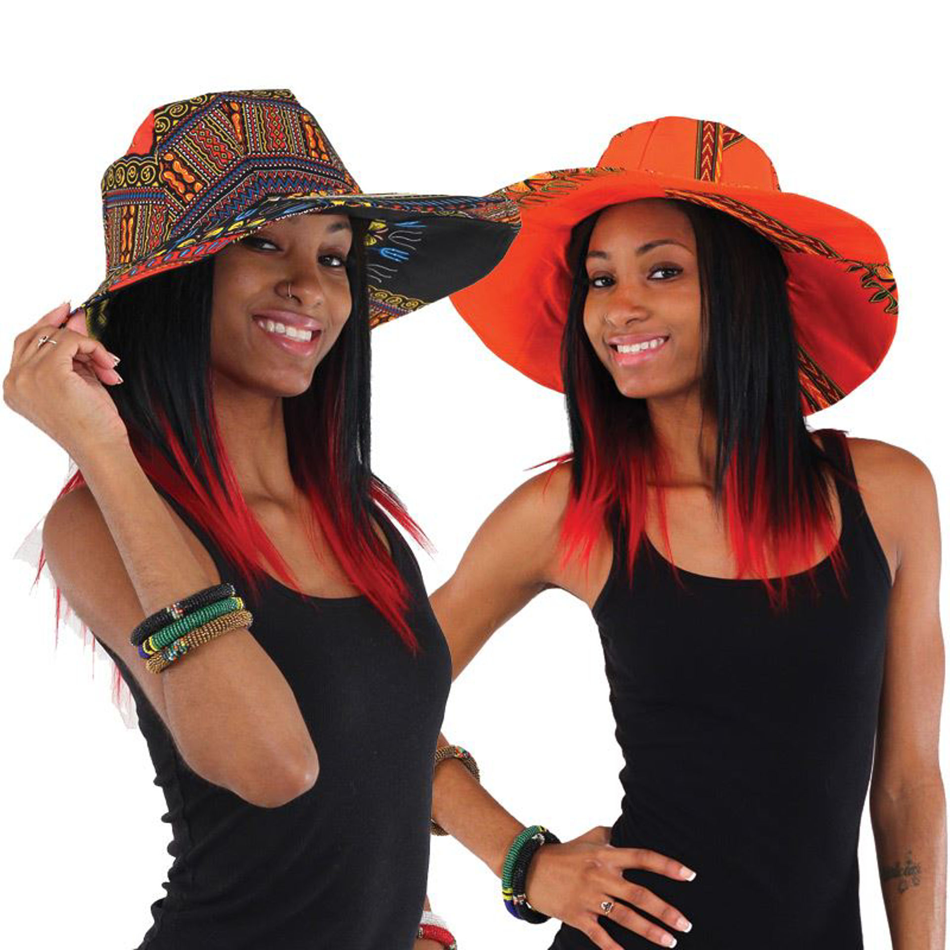 Picture of Traditional Print Sun Hat