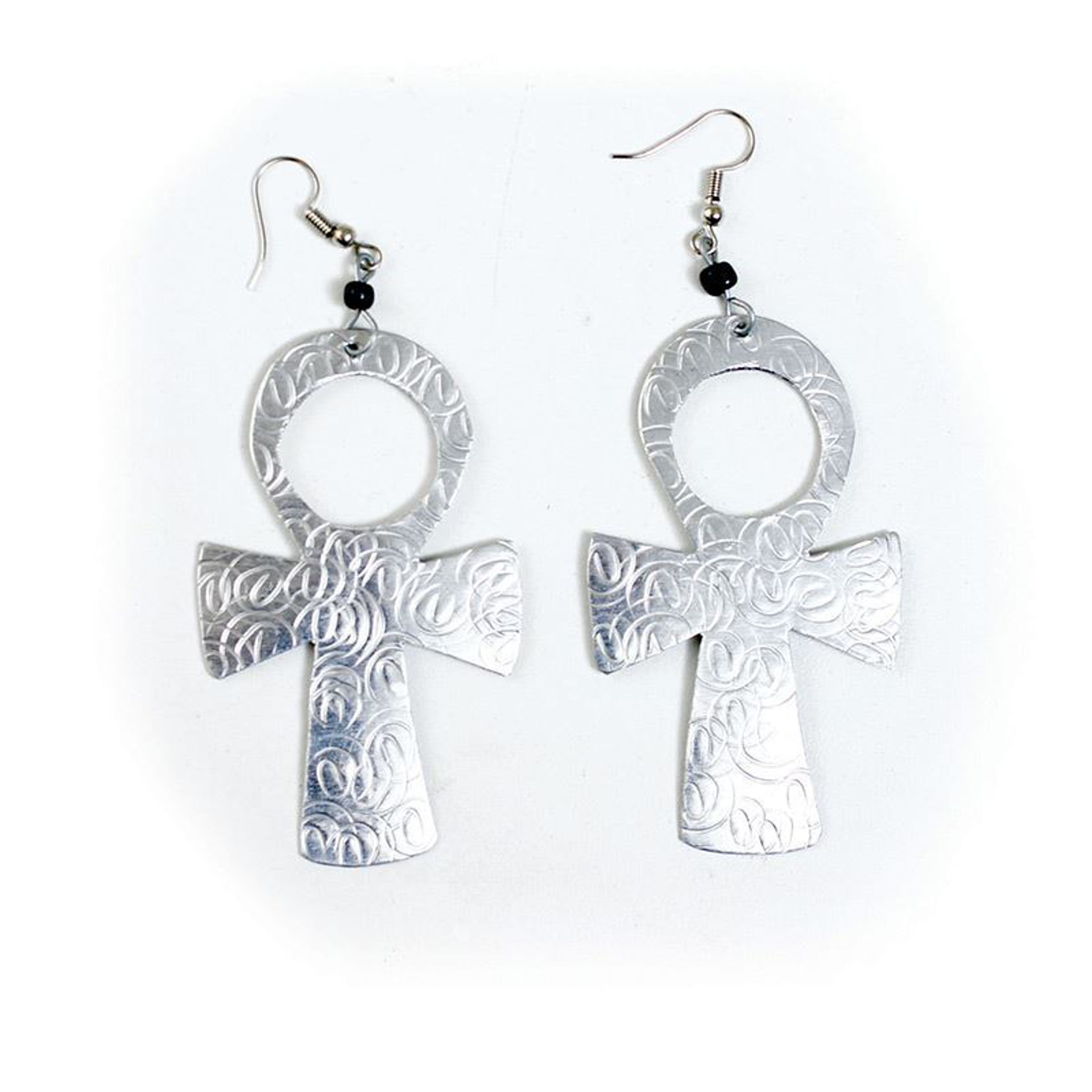 Picture of Silver Earrings: Ankh