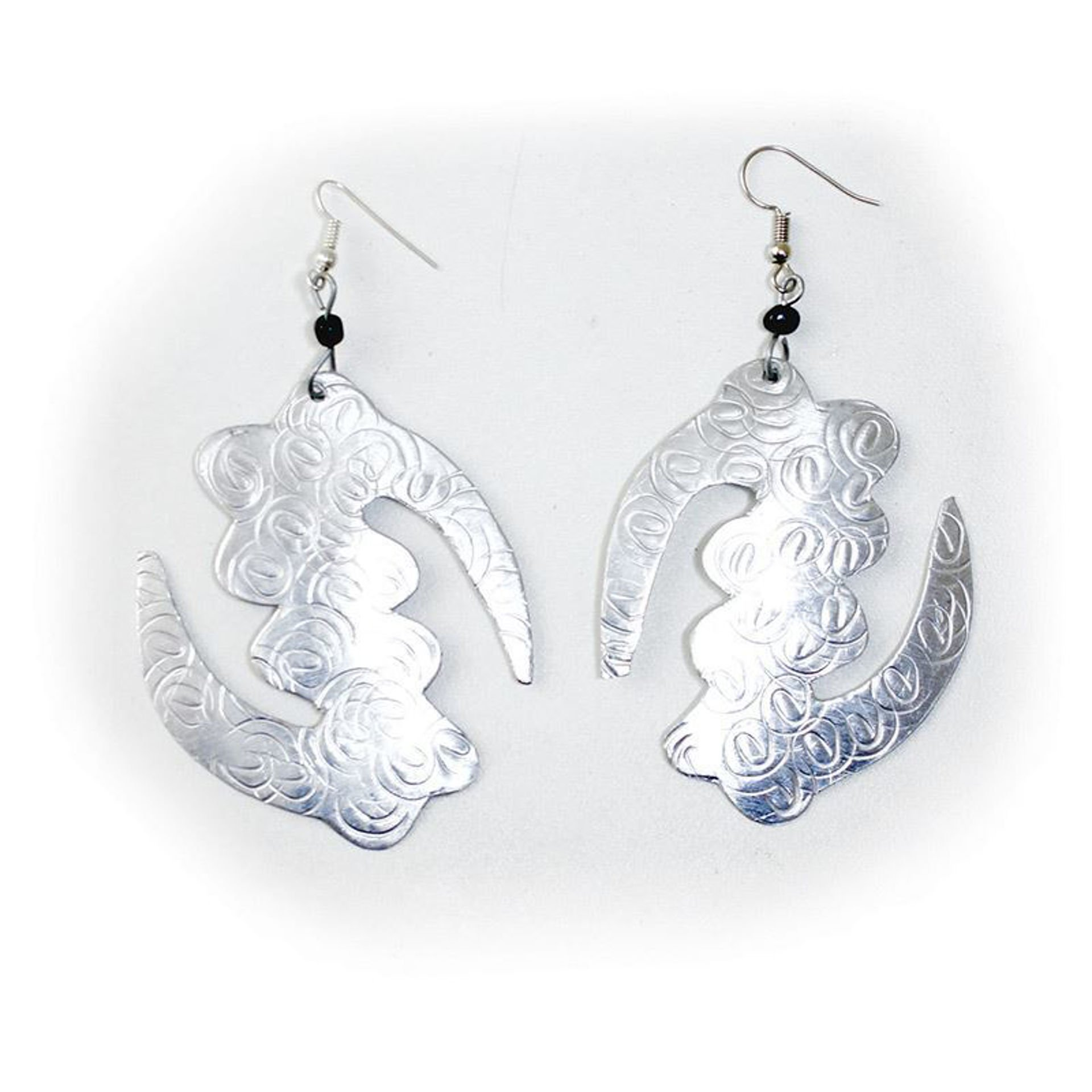 Picture of Silver Earrings: Gye Nyame