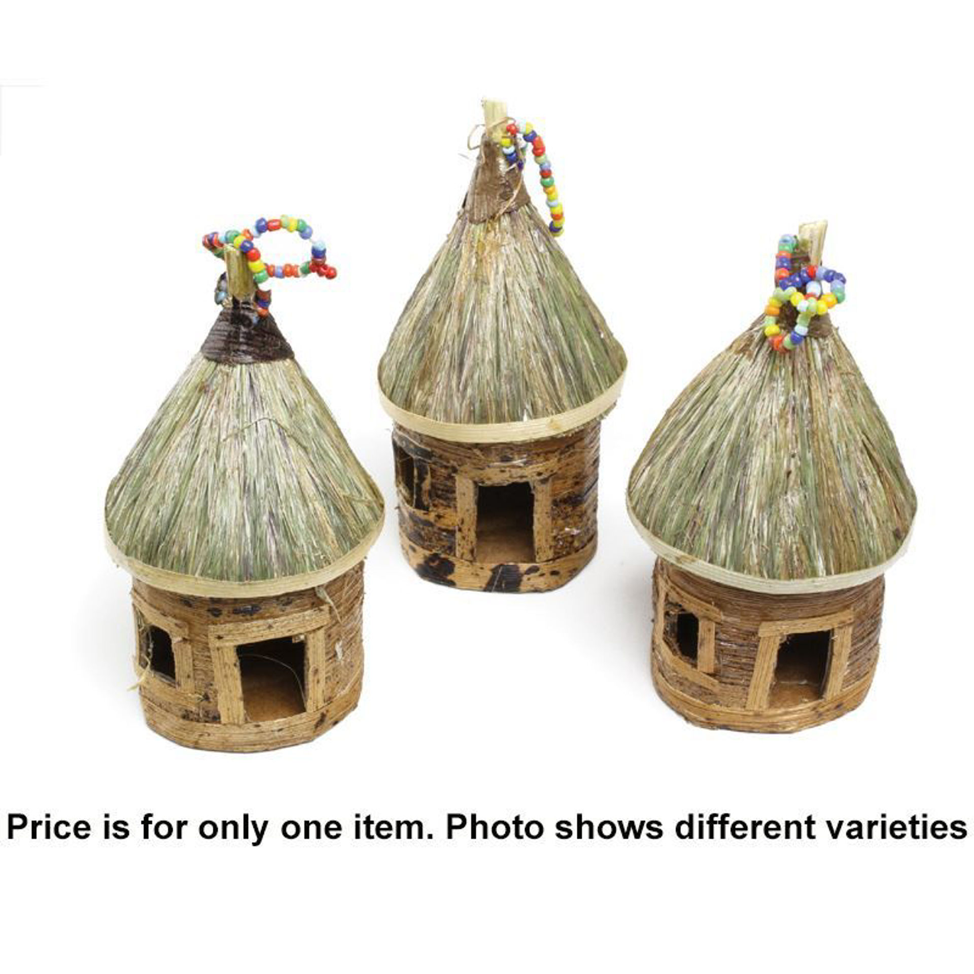Picture of Banana Leaf Ornaments - Huts