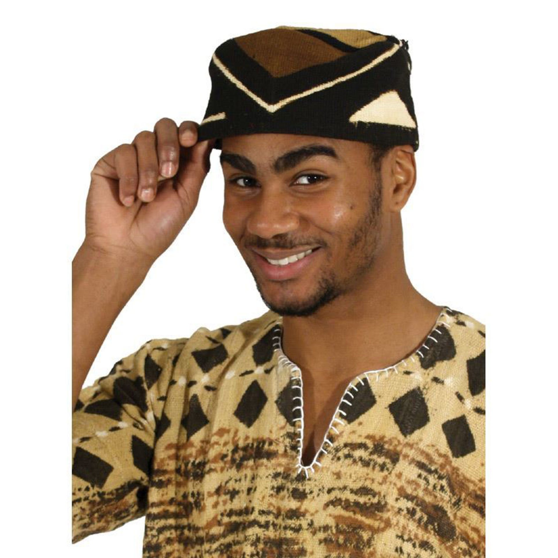 Picture of Mud Cloth Kufi Hat