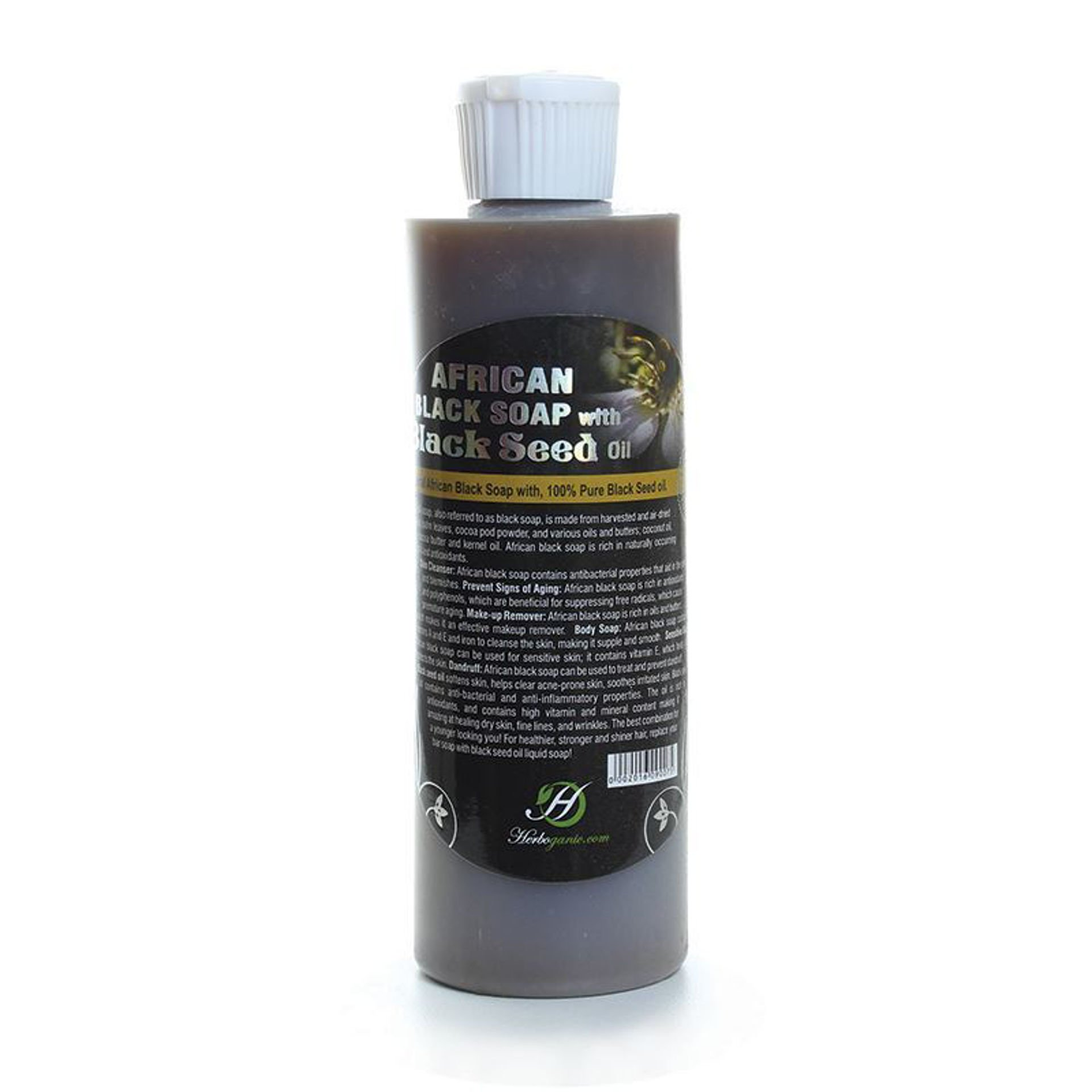 Picture of Black Seed Oil Liquid Black Soap: 8 oz
