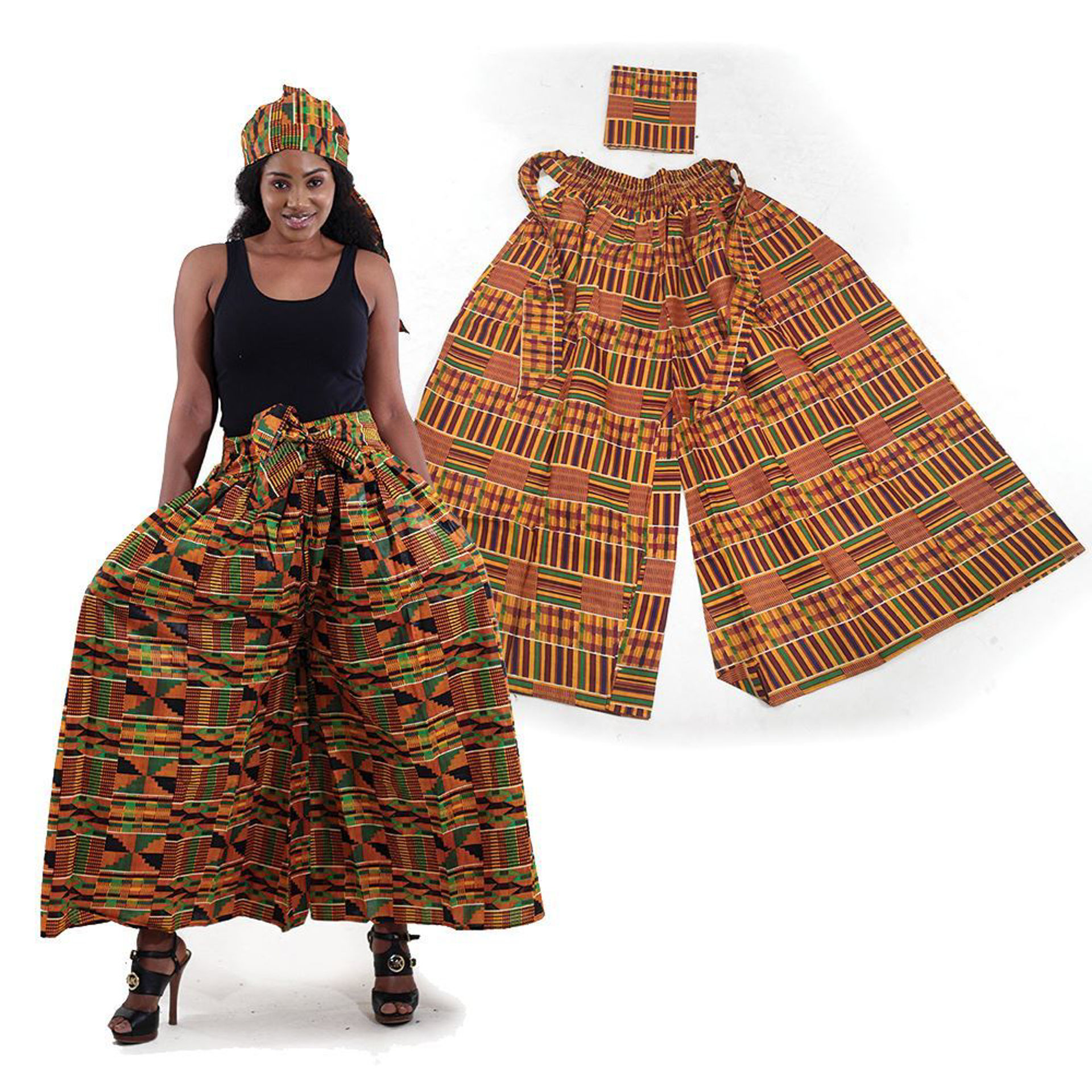 Picture of Kente Palazzo Pants