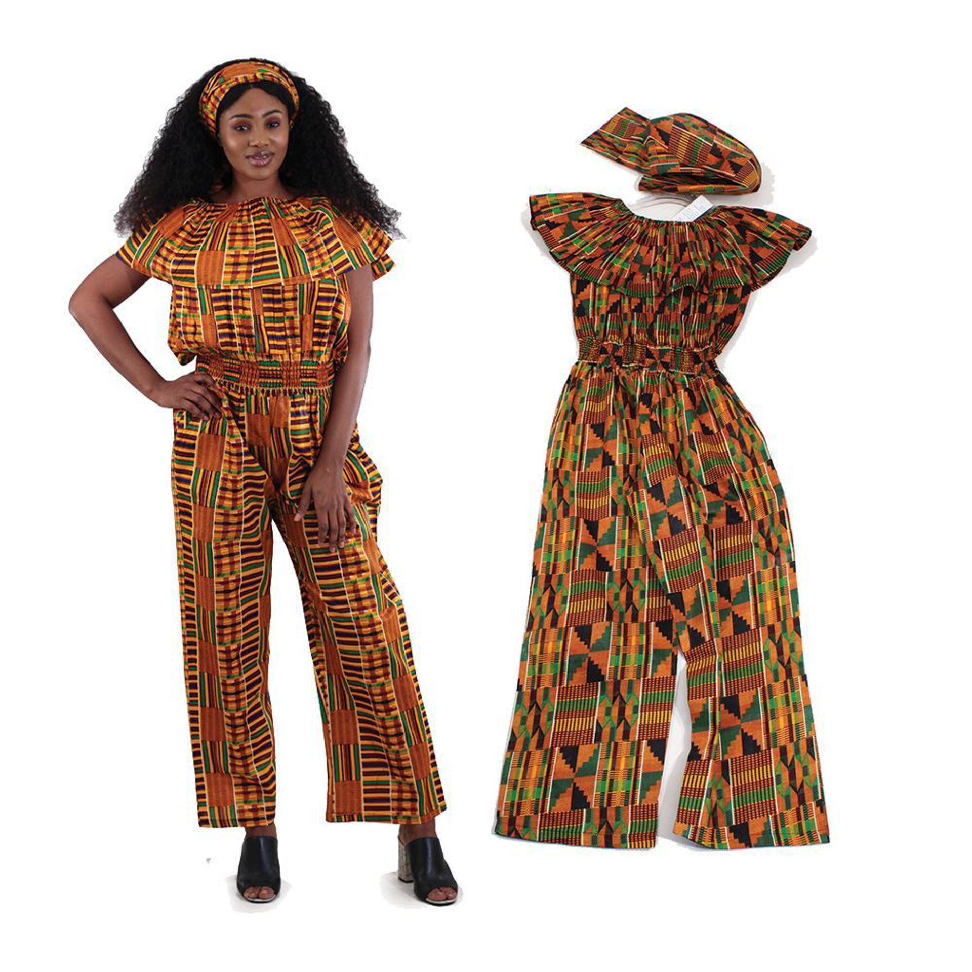 Picture of Kente Jumpsuit
