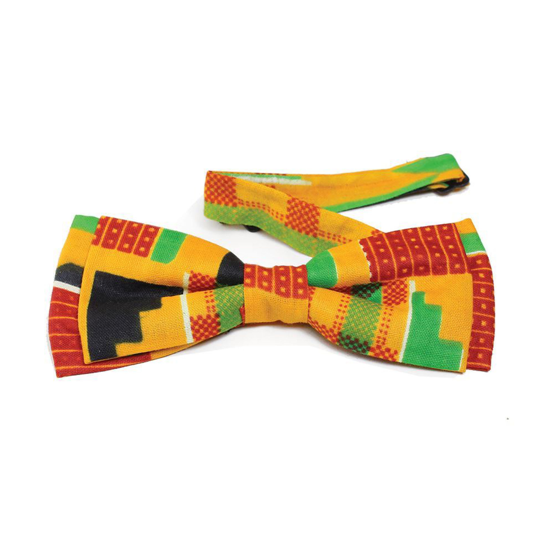 Picture of Kente Bow Tie #2 (Yellow)