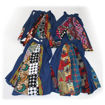 Picture of Mixed Print Denim Skirt - ASSORTED