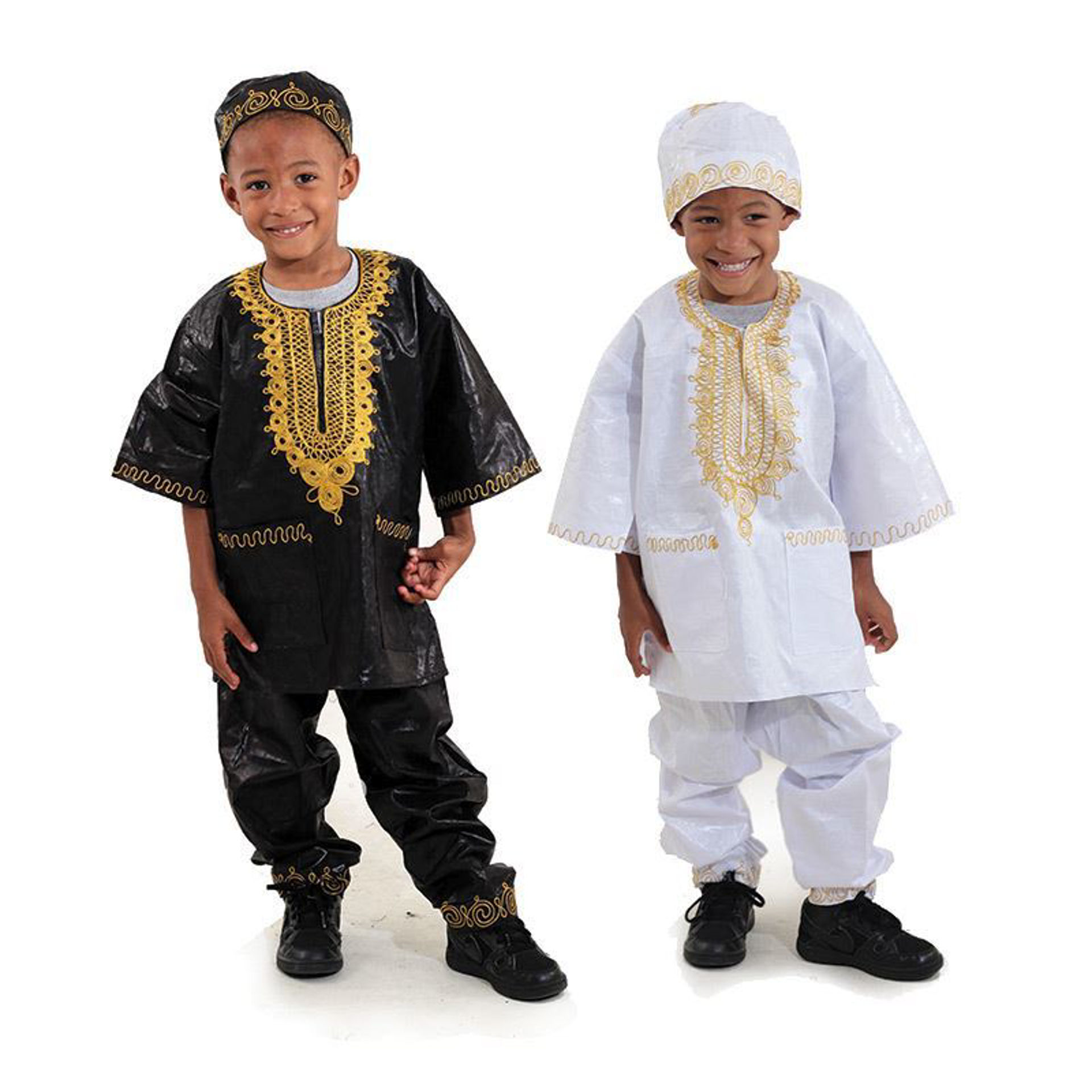 Picture of Boy's Embroidered Brocade Set