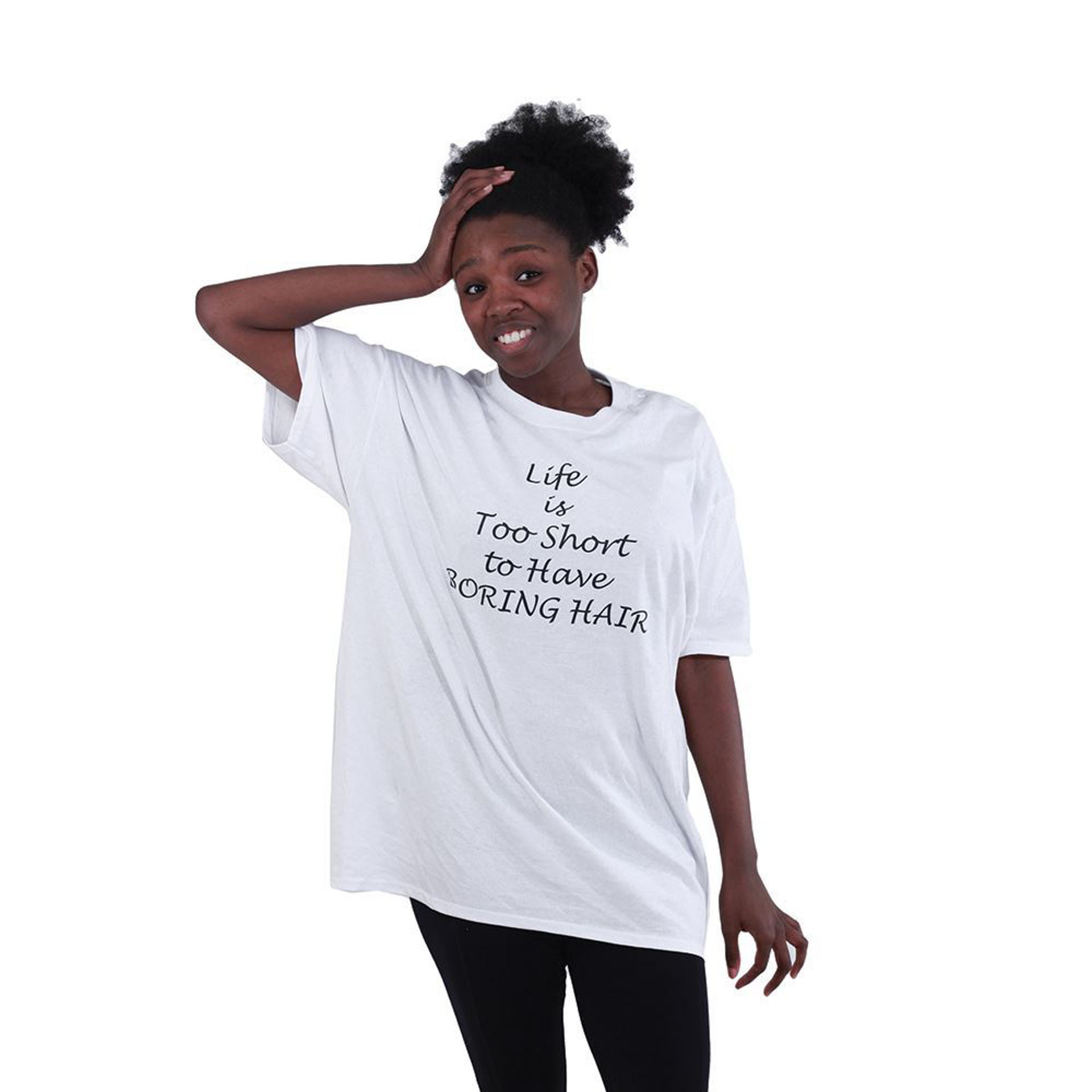 Picture of Boring Hair T-Shirt