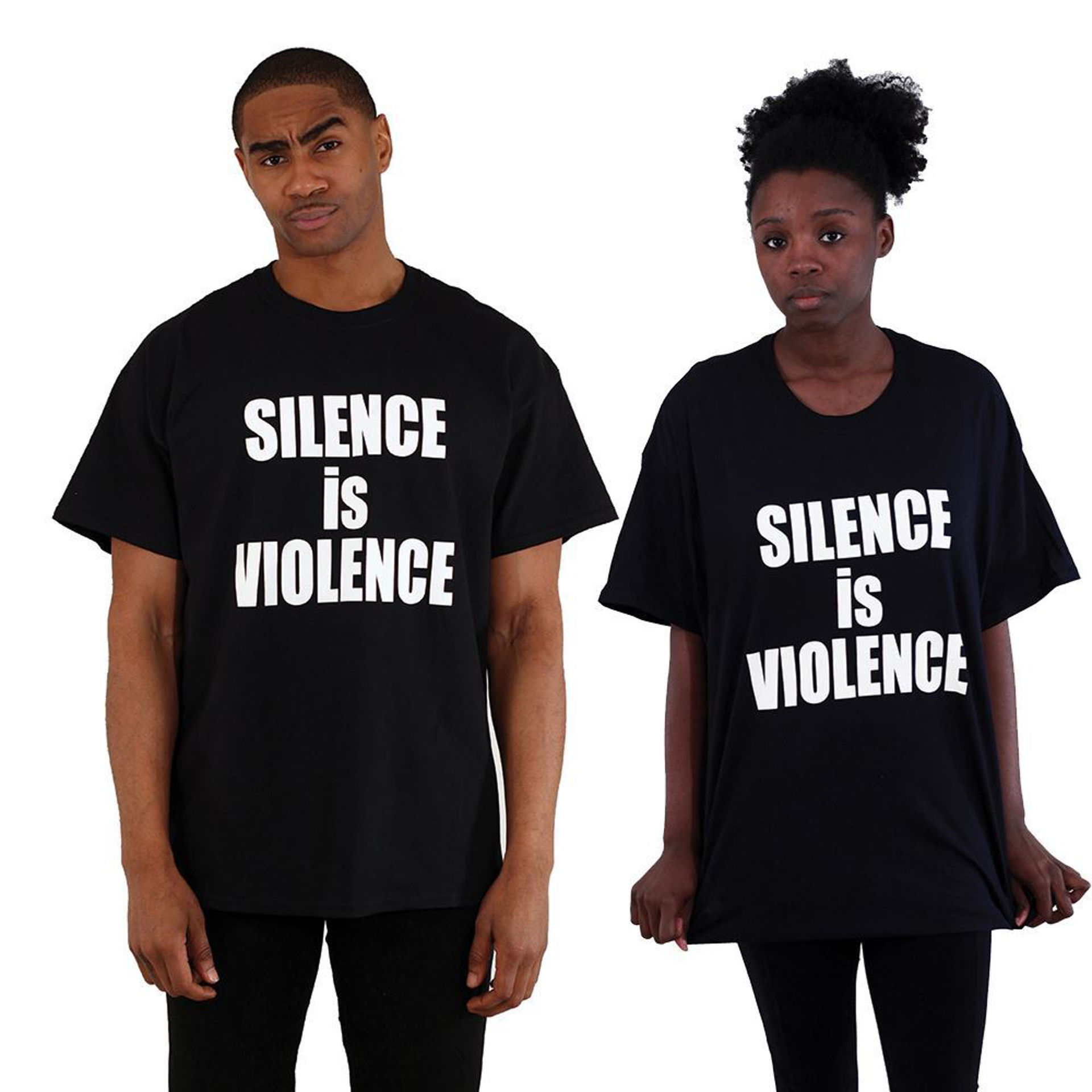 Picture of Silence Is Violence T-Shirt
