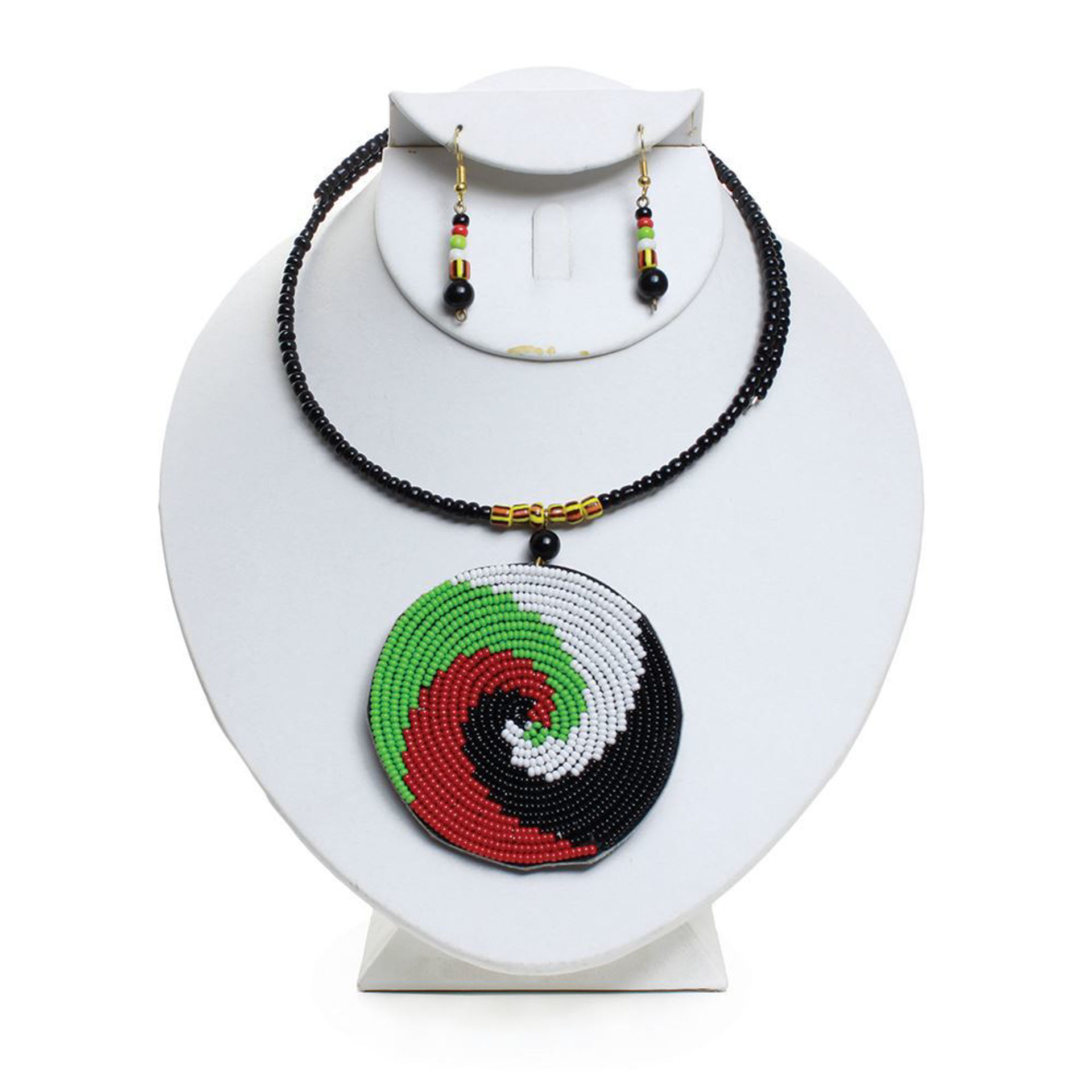 Picture of African Maasai Pendant Necklace Set