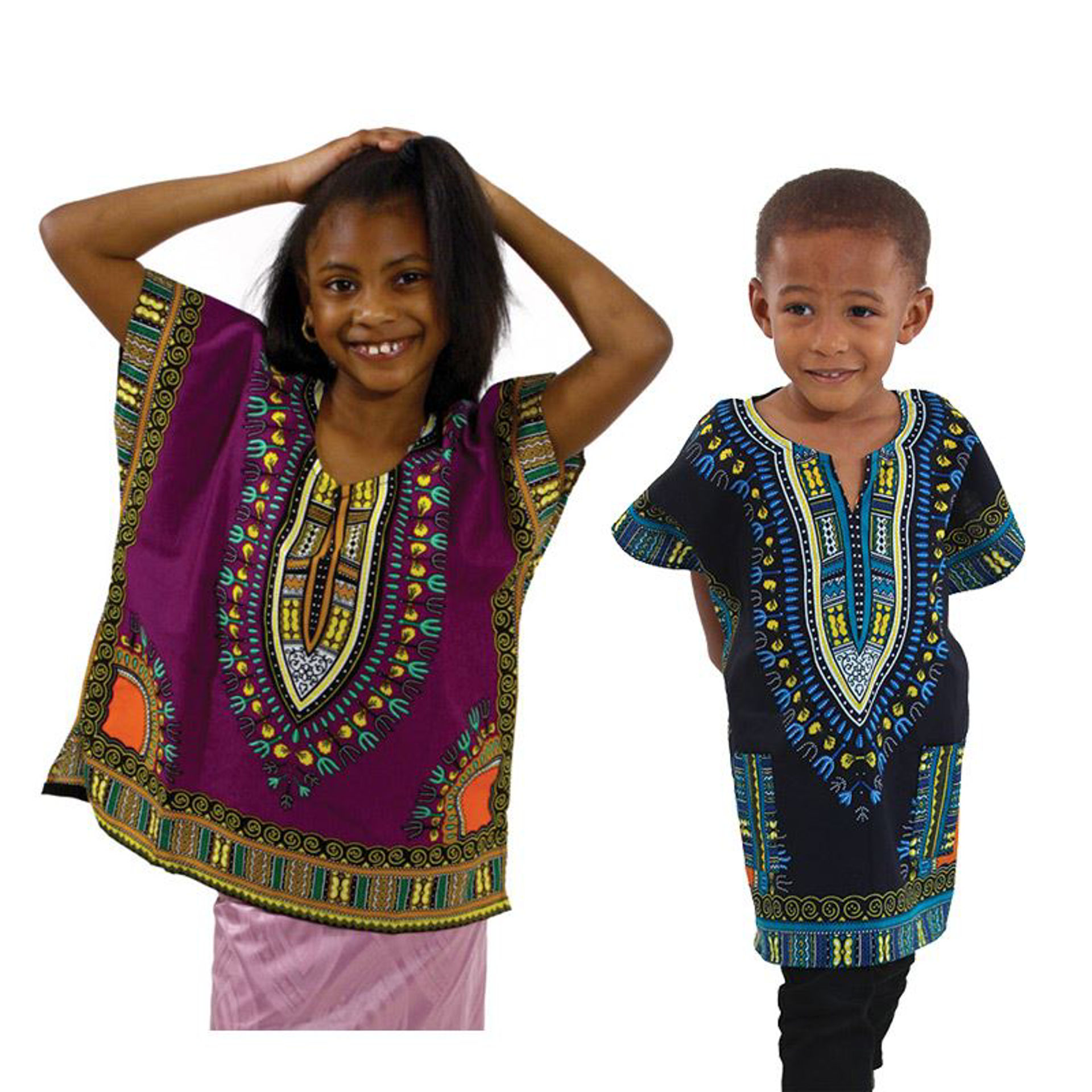 Picture of Children's Traditional Dashiki: SIZES