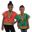 Picture of Traditional Print Elastic Child Dashiki