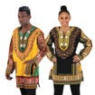 Picture of Traditional Print Long-Sleeve Dashiki