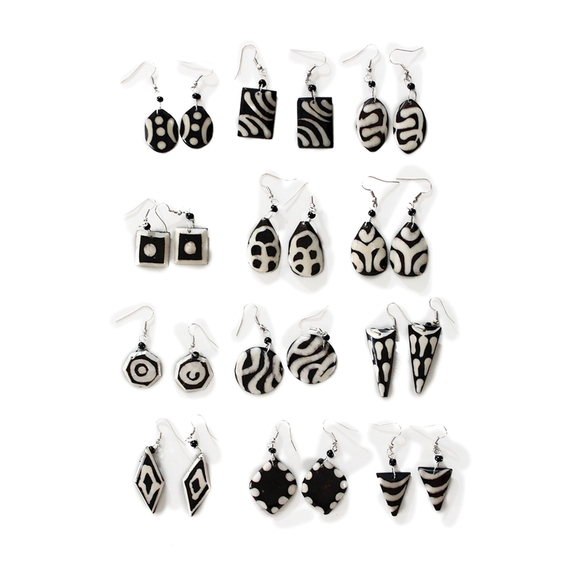 Picture of Set Of 12 Assorted Earrings