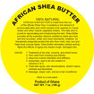 Picture of 7 oz. Shea Butter Labels: Set Of 500