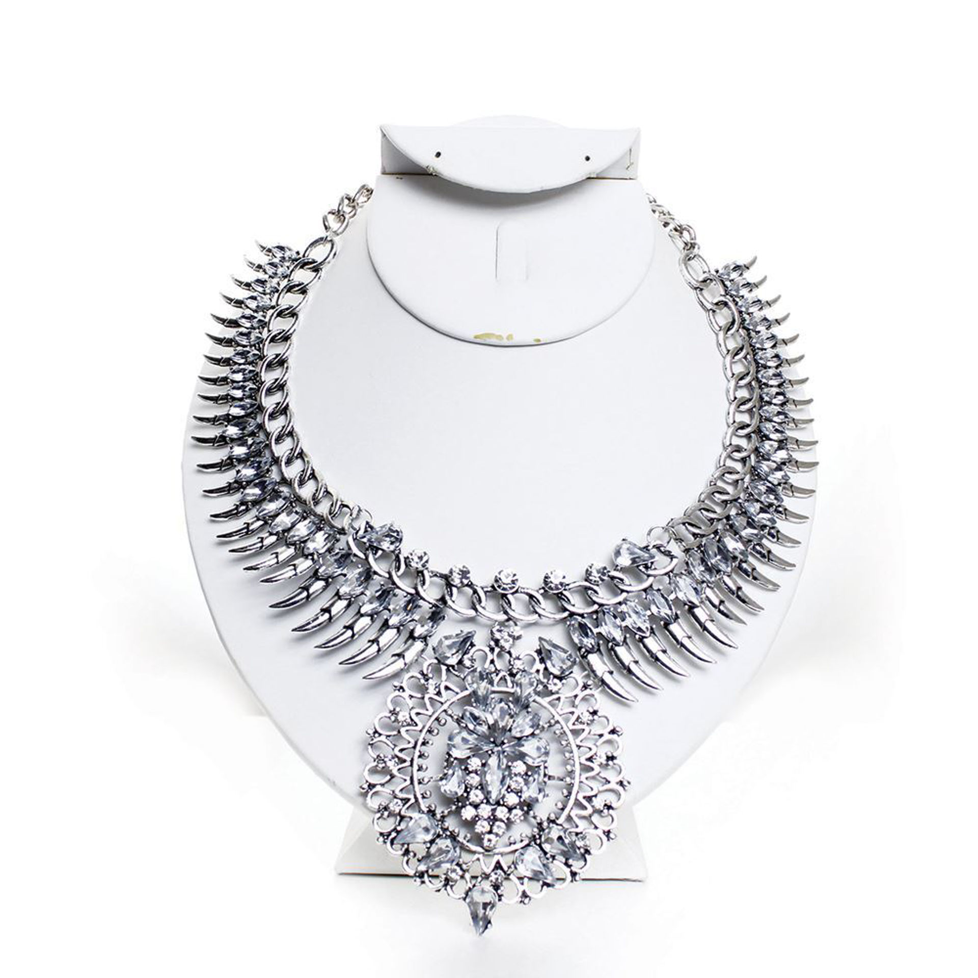 Picture of Crystal Panther Claw Necklace