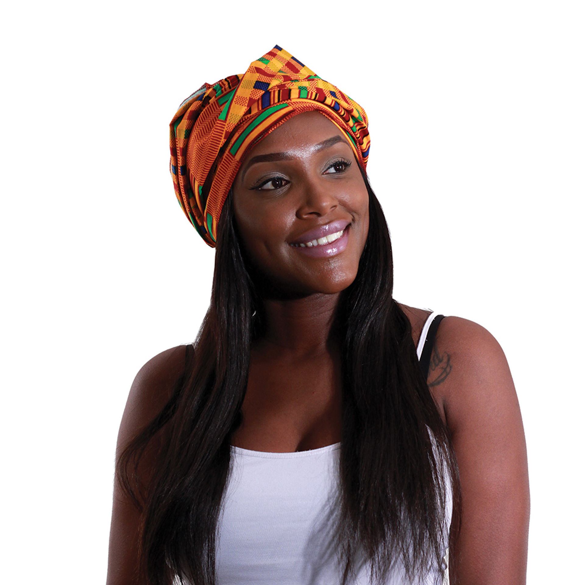 Picture of Kente #1 Head Wrap