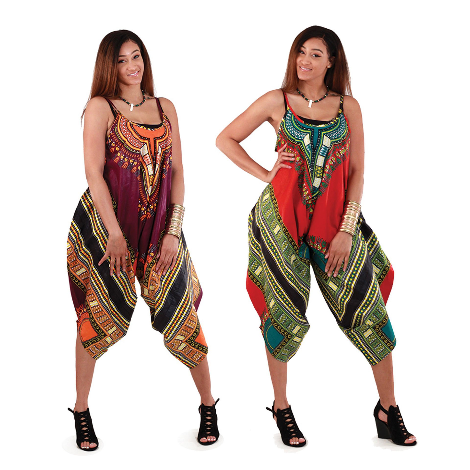 Picture of Traditional Print Jumpsuit