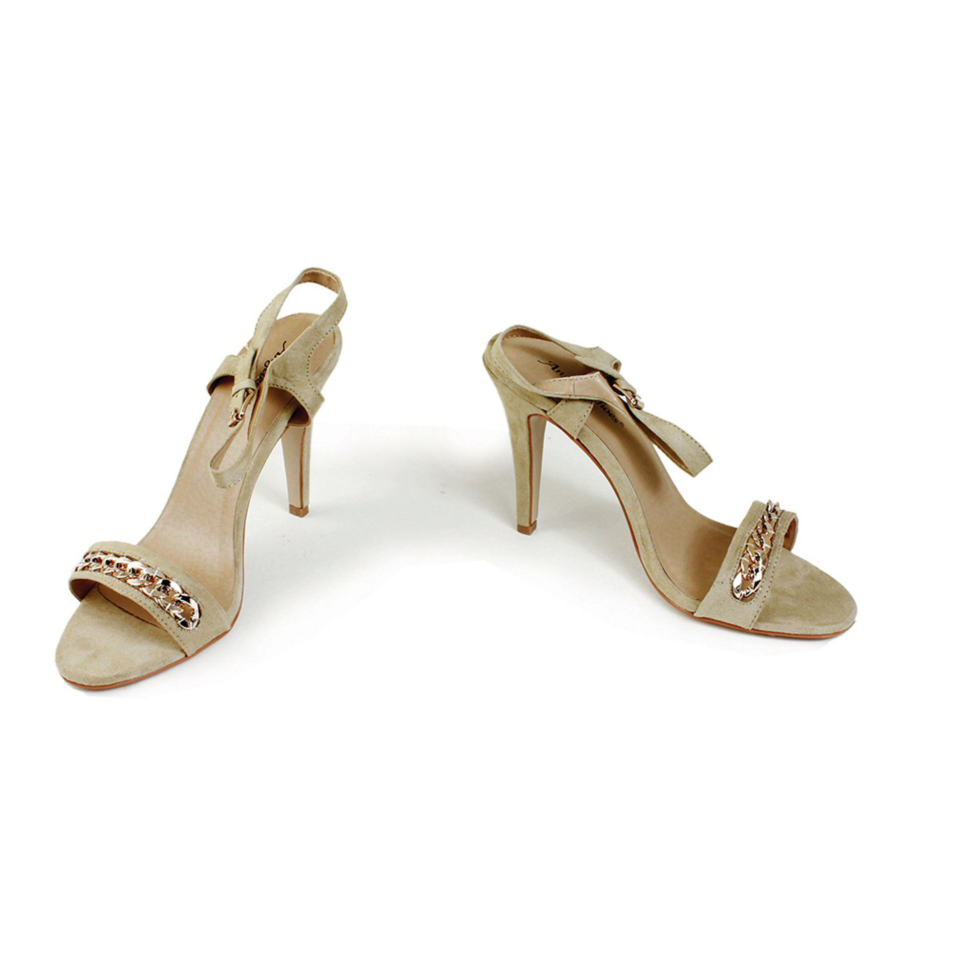 Picture of Beige High Heel Sandal