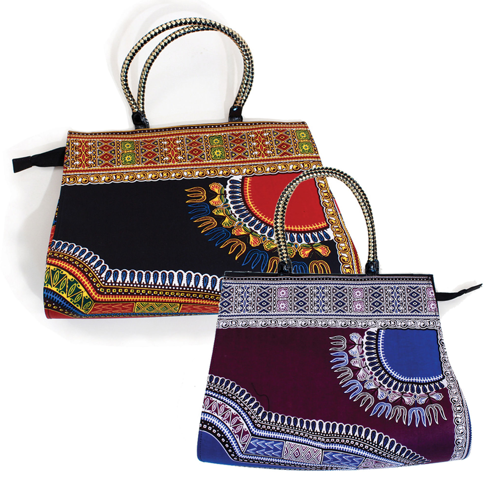 Picture of Traditional Print Large Handbag