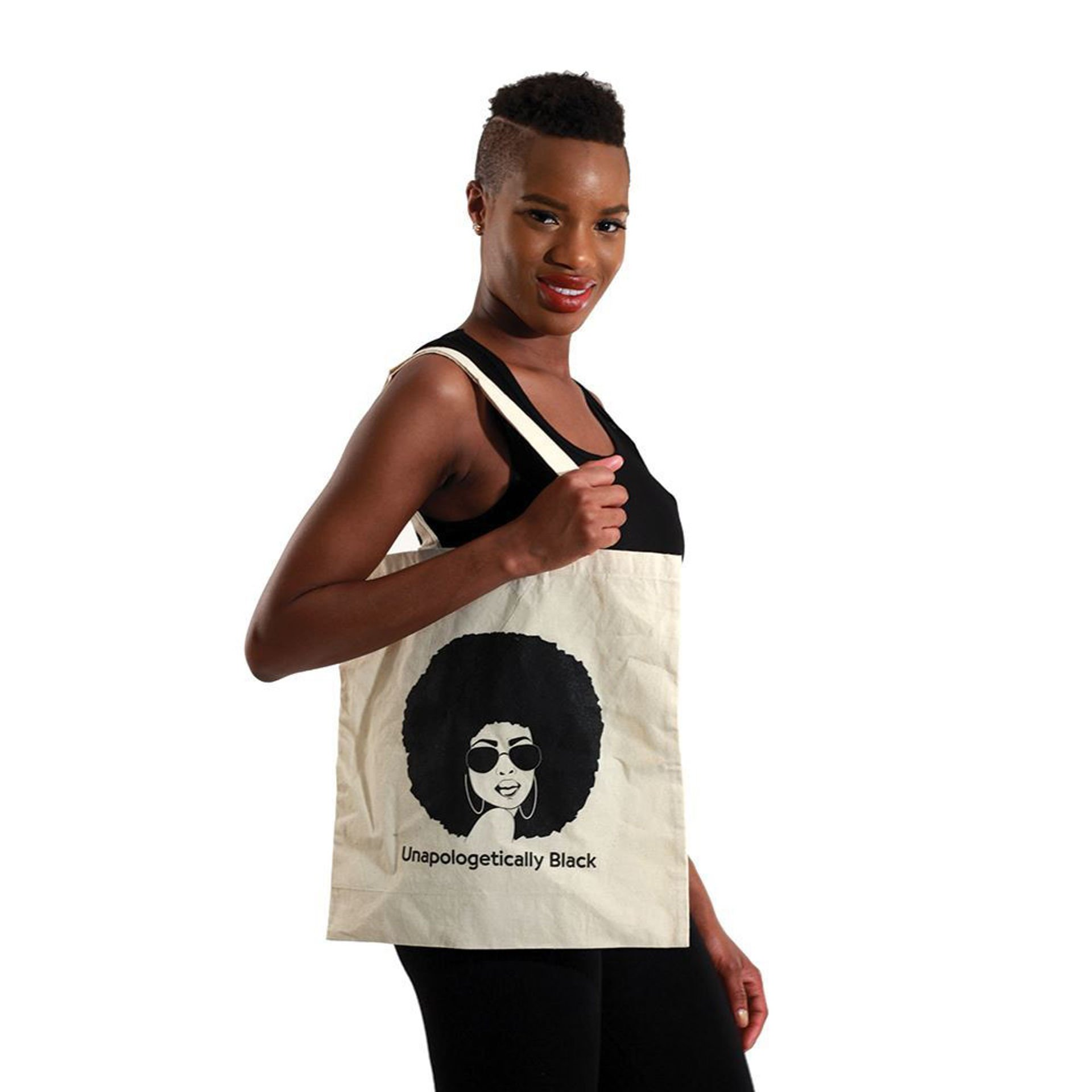 Picture of Tote Bag: Unapologetically Black