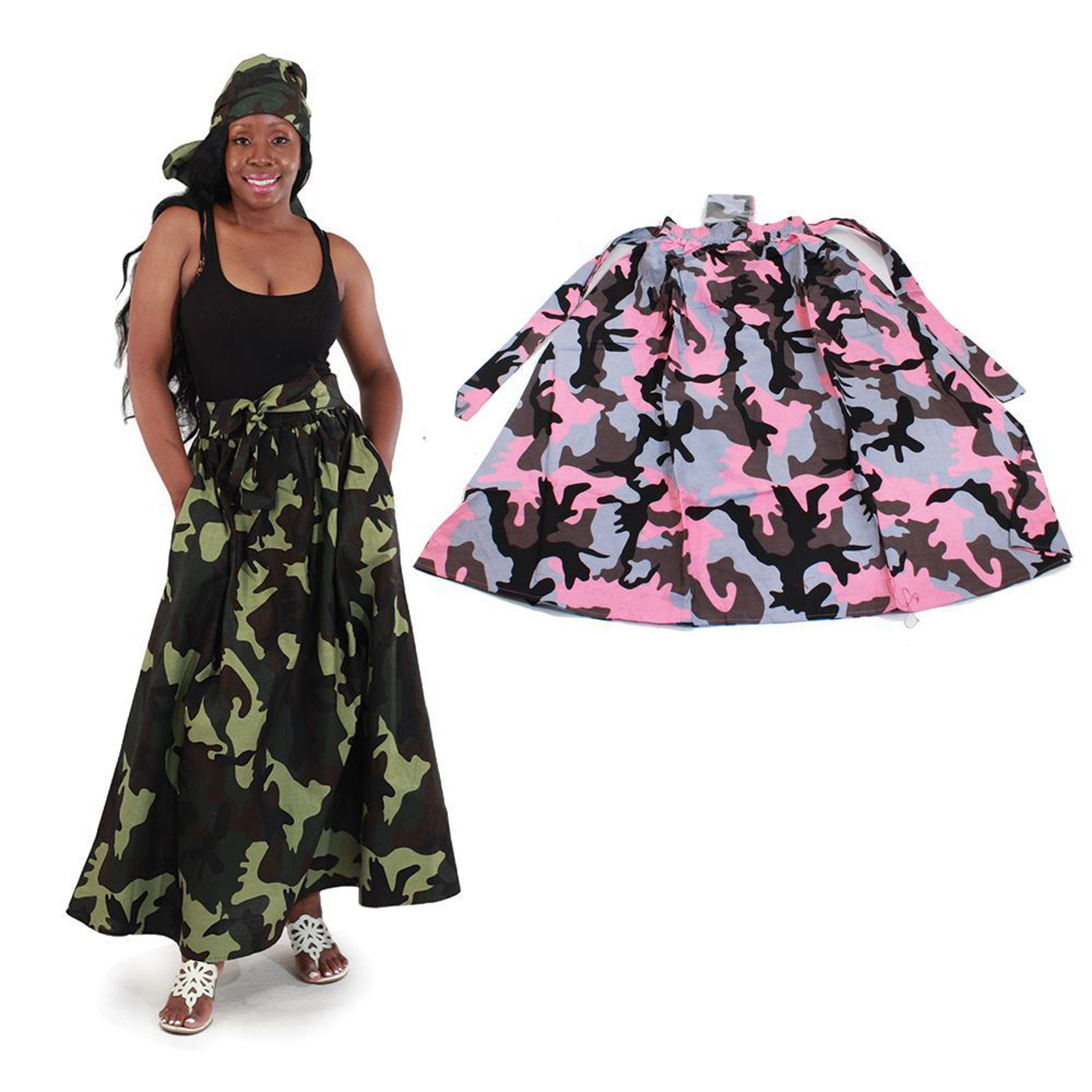 Picture of Camo Panel Skirt