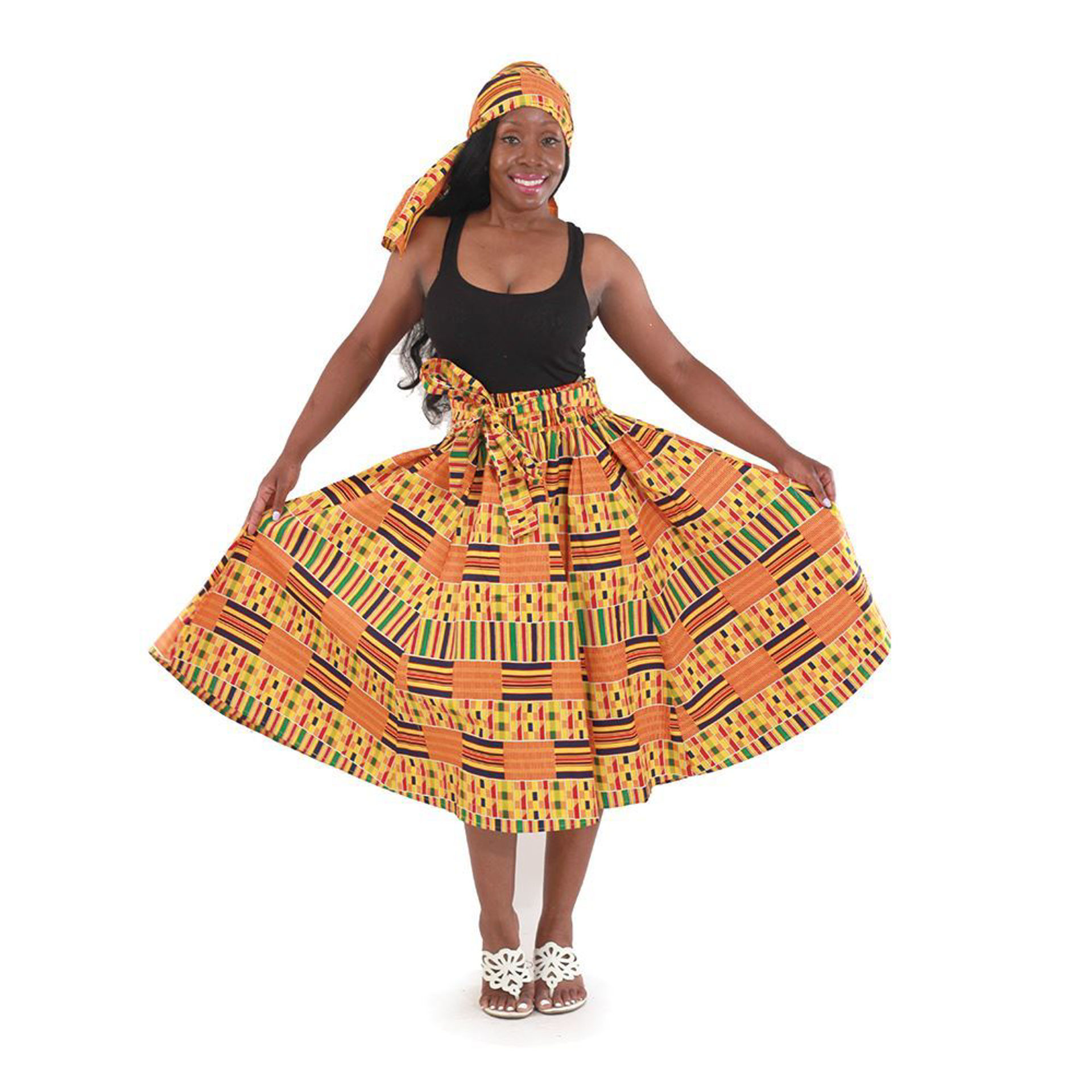 Picture of Kente Skirt #1