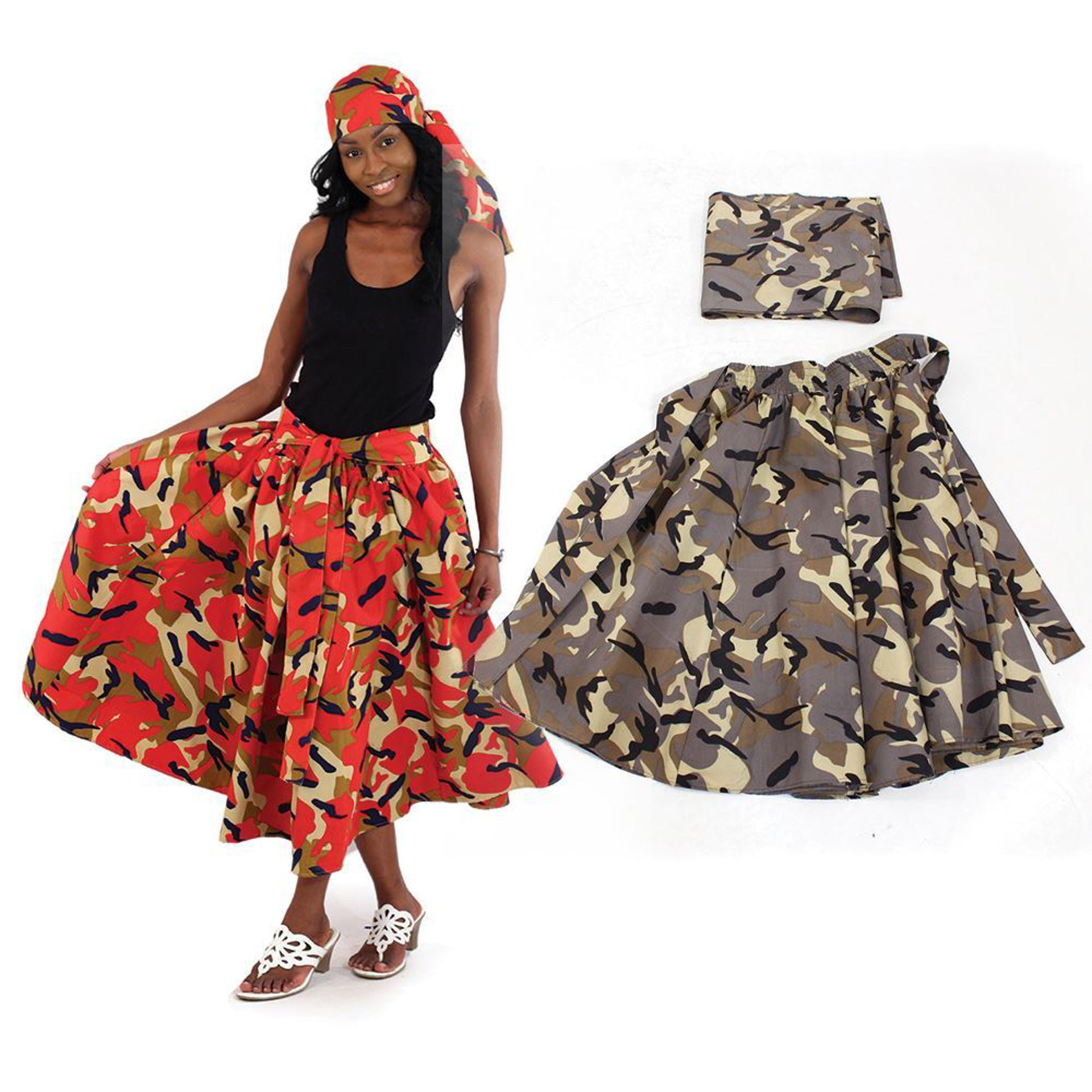 Picture of Woodland Camo Skirt
