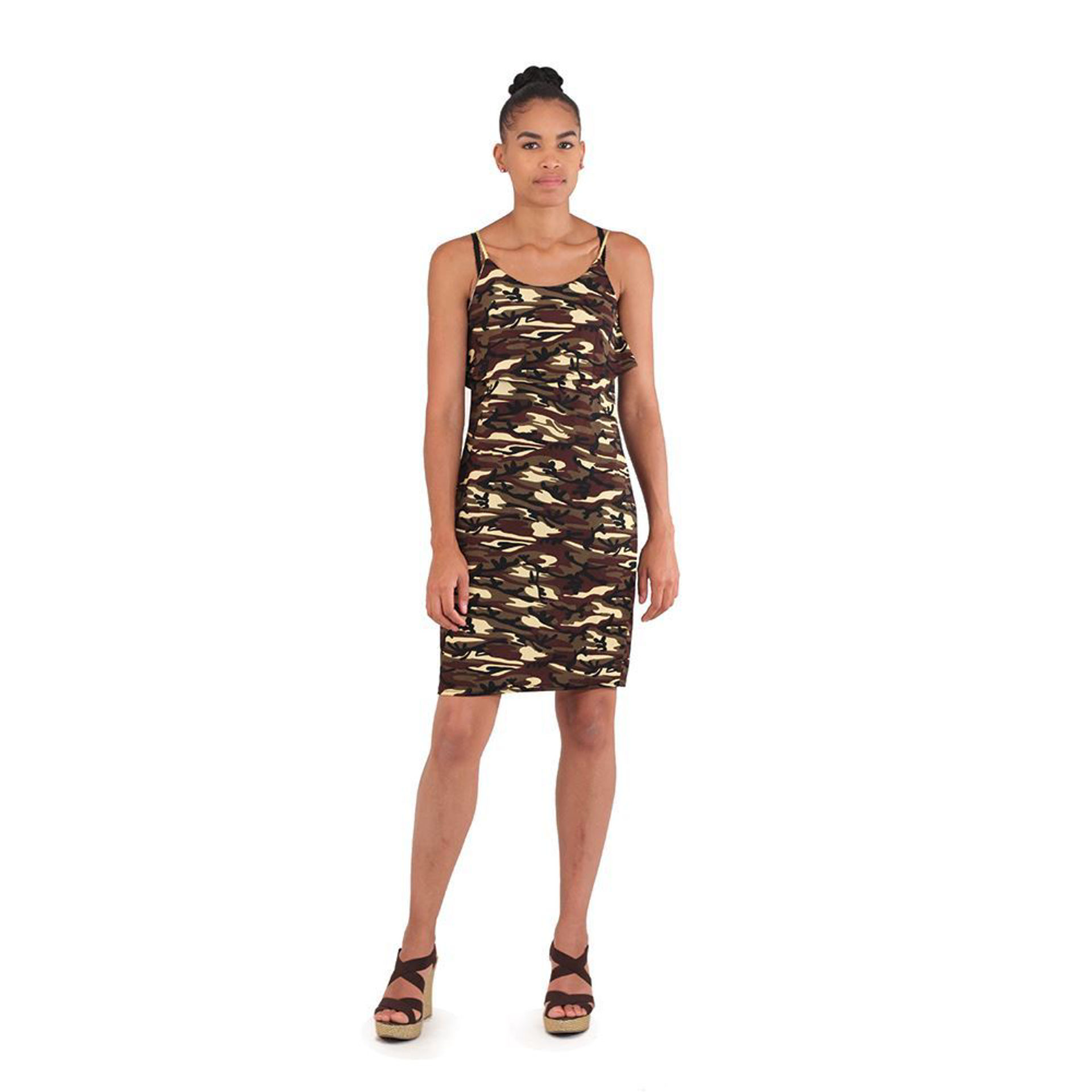Picture of Green Camo Short Dress