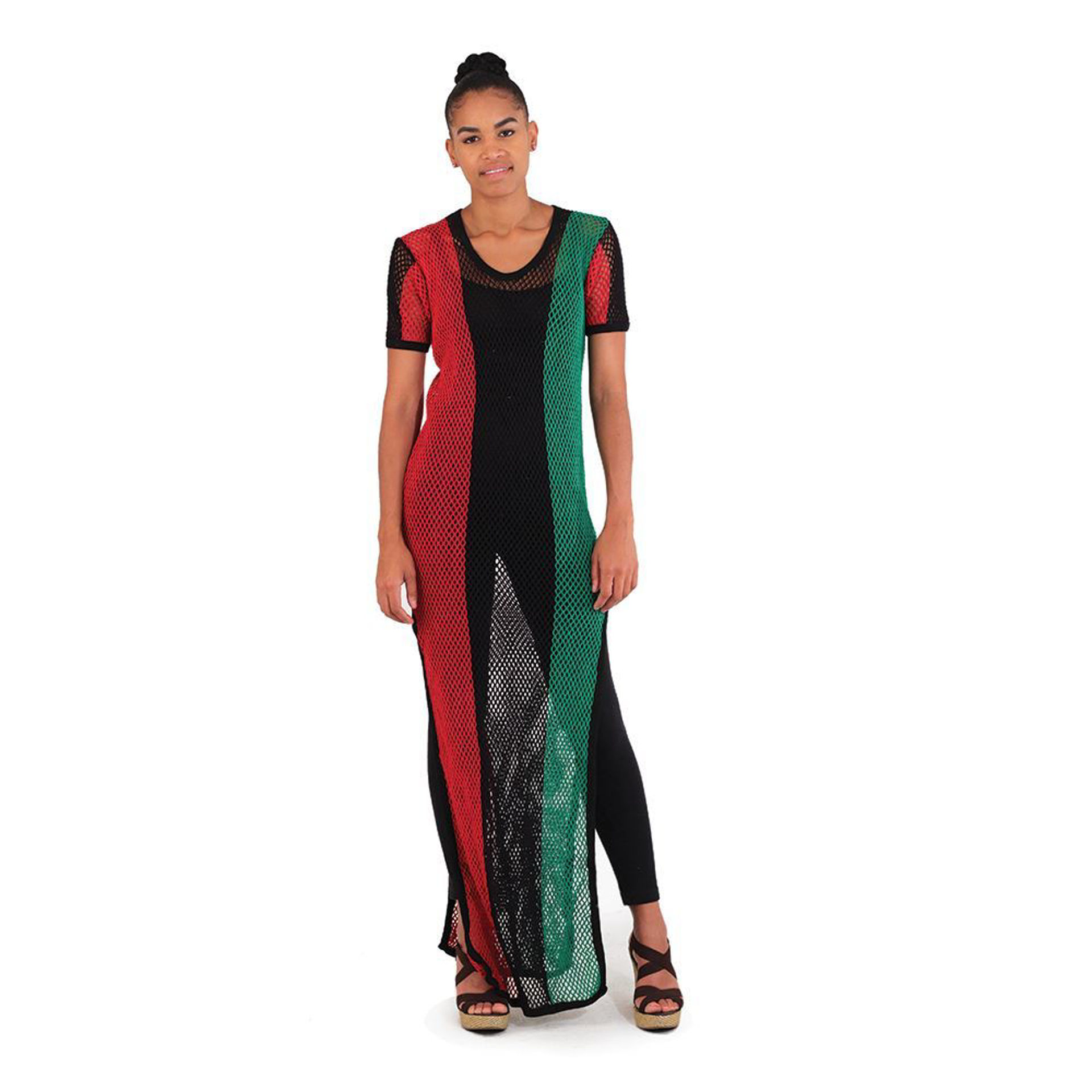 Picture of Mesh Colors Of Africa Dress