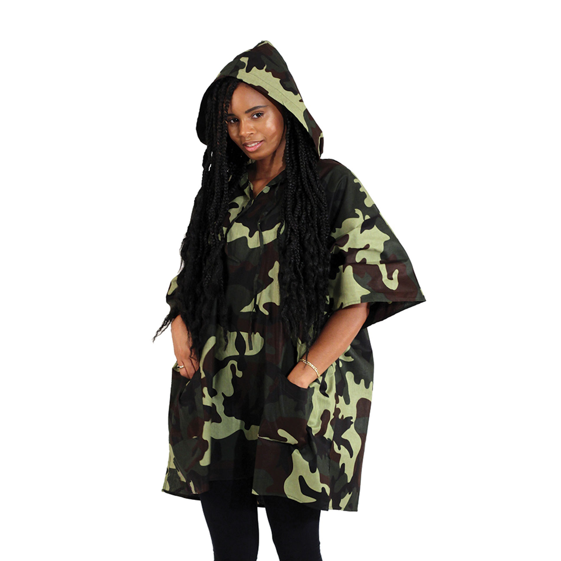 Picture of Camo Hoodie: Green