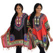 Picture of Traditional Print Poncho
