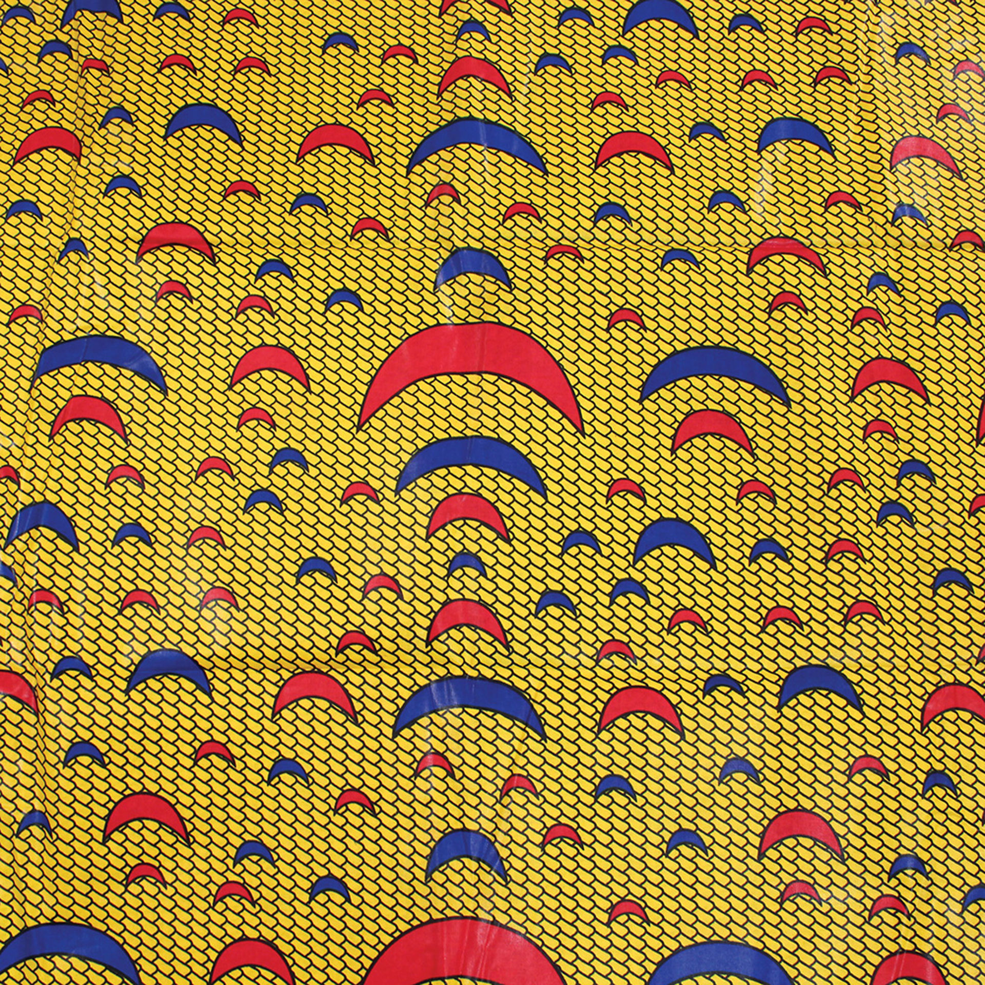 Picture of Yellow Cresent Fabric
