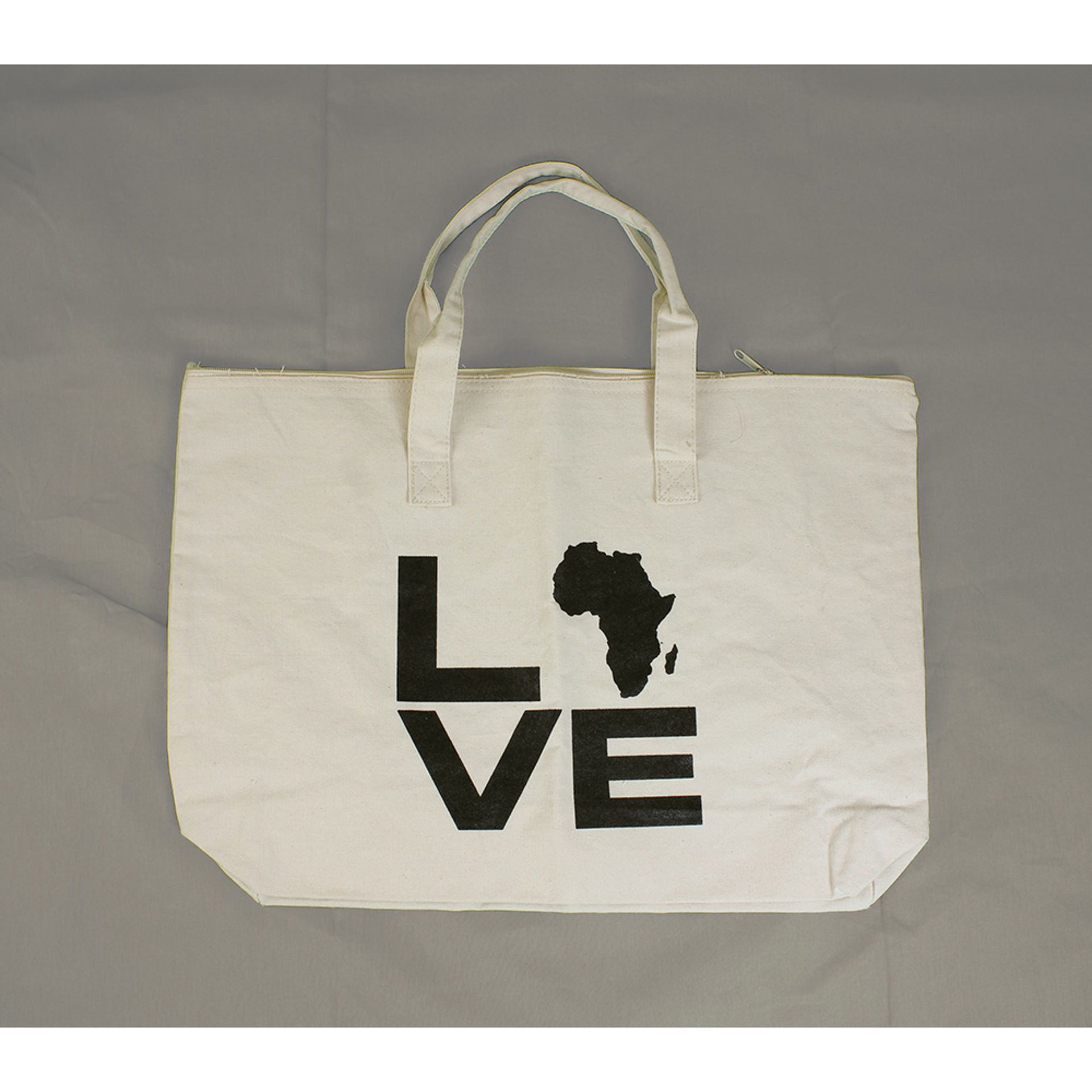 Picture of Canvas Bag: Love Africa