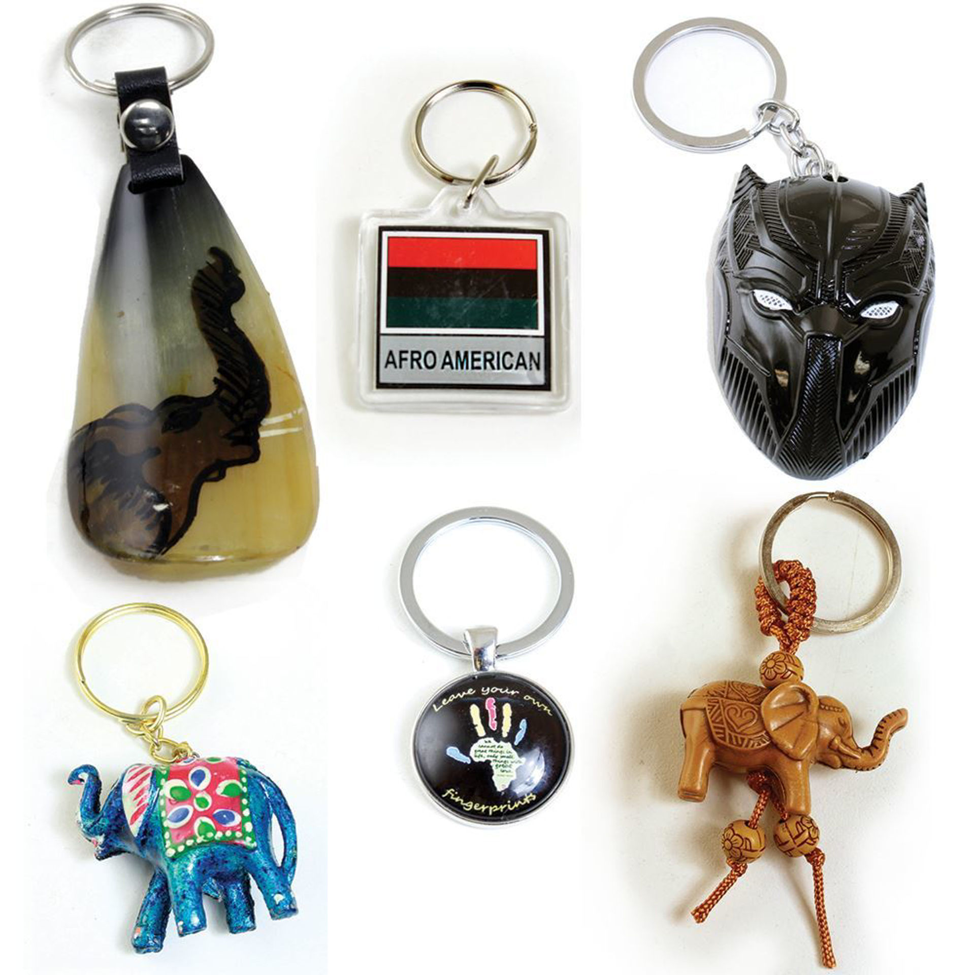Picture of Set Of 6 Key Chains