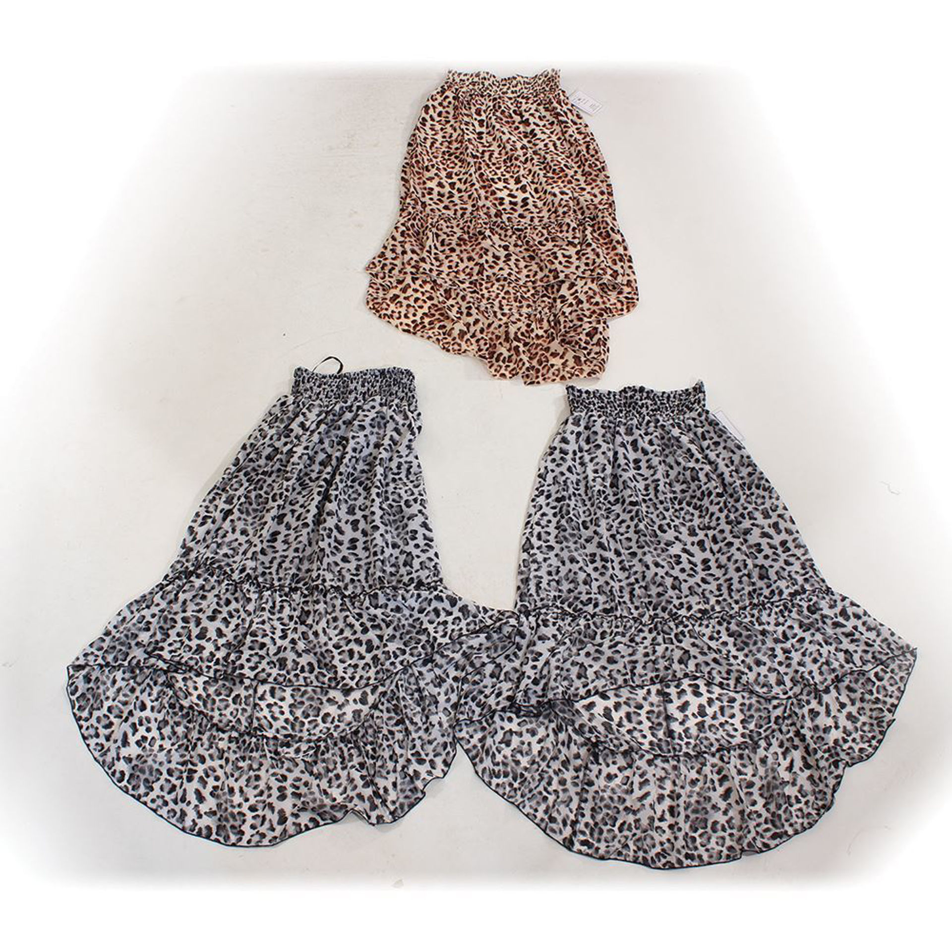 Picture of Set Of 3 Hi-Lo Skirts: Sizes LG & XL
