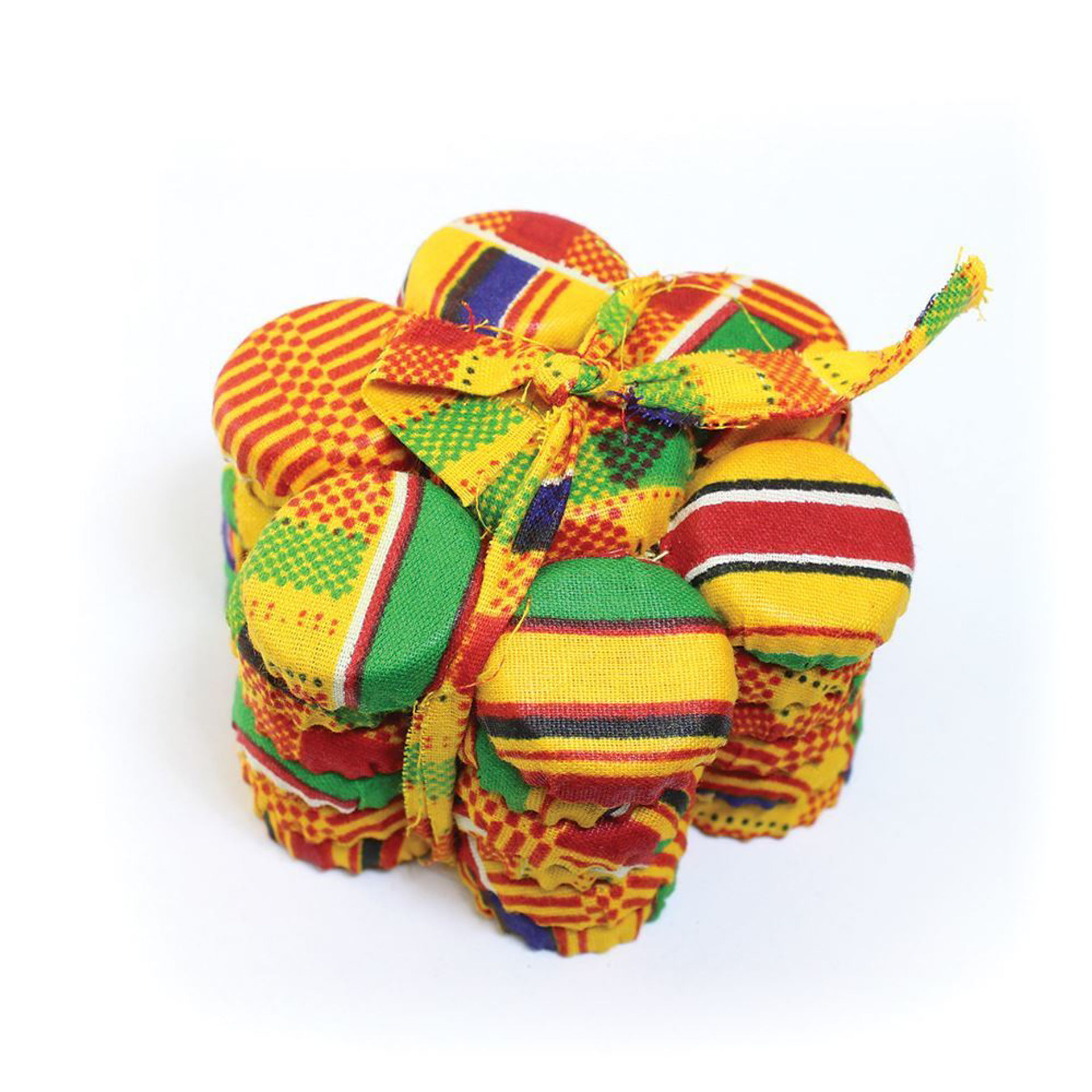 Picture of African-Made Kente Coaster Set