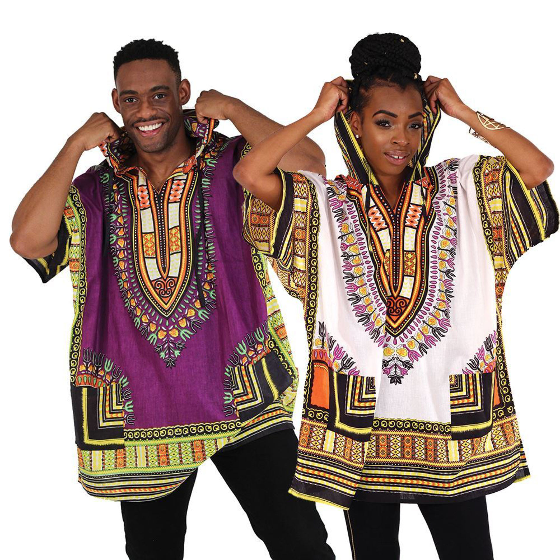 Picture of King-Size Traditional Hoodie Dashiki